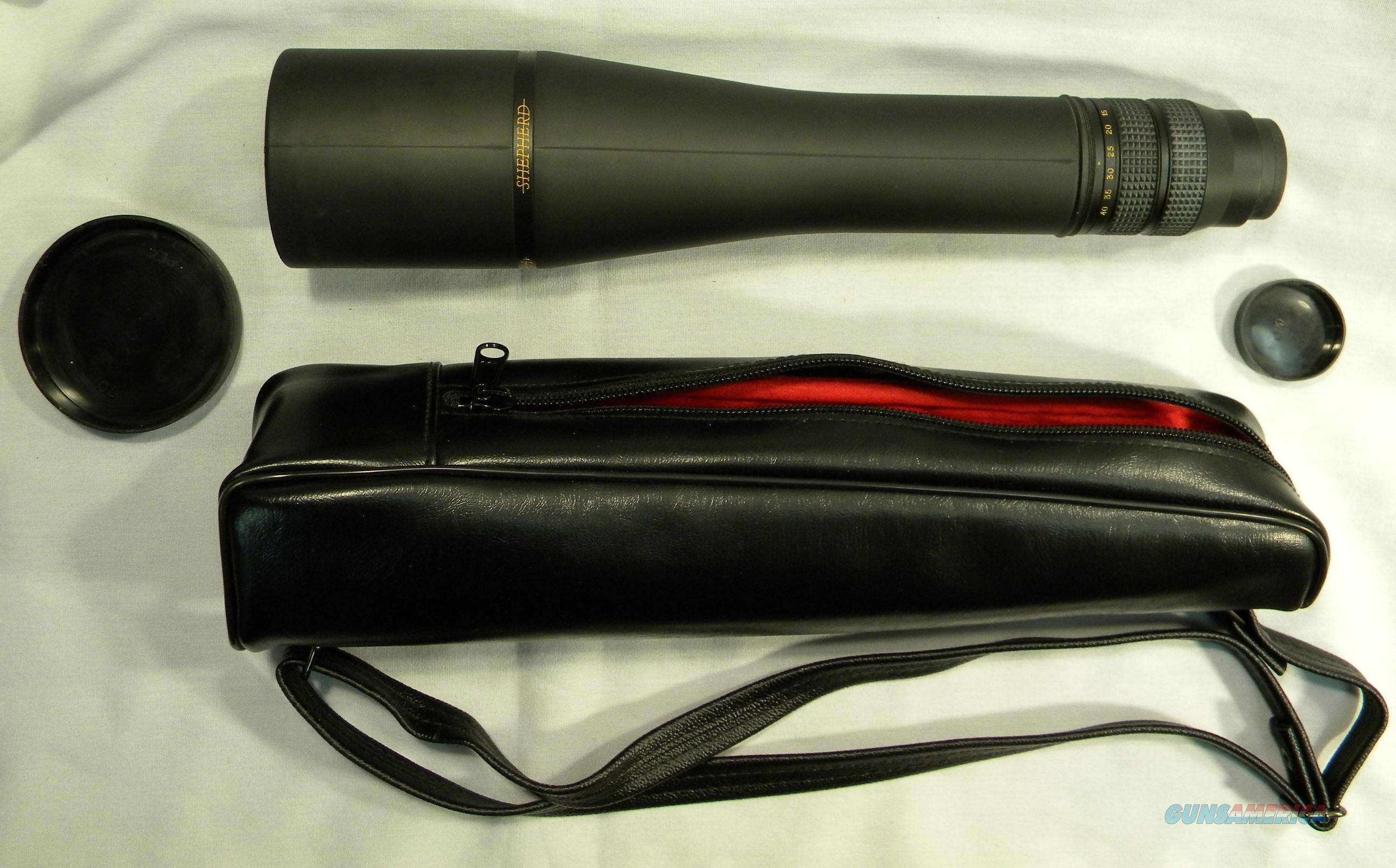 'Shepherd' Brand Spotting Scope, 15-40x60mm, Waterproof, As-New  Non-Guns > Scopes/Mounts/Rings & Optics > Non-Scope Optics > Monoculars
