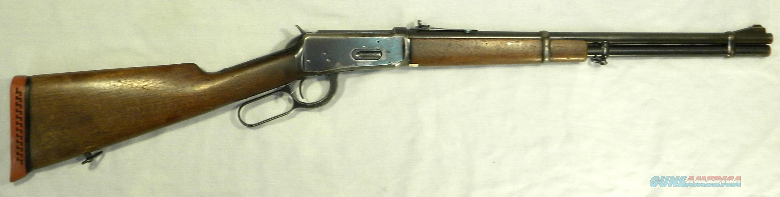 Winchester Model 94 .30WCF/.30-30, Pre-'64, Made During WWII  Guns > Rifles > Winchester Rifles - Modern Lever > Model 94 > Pre-64
