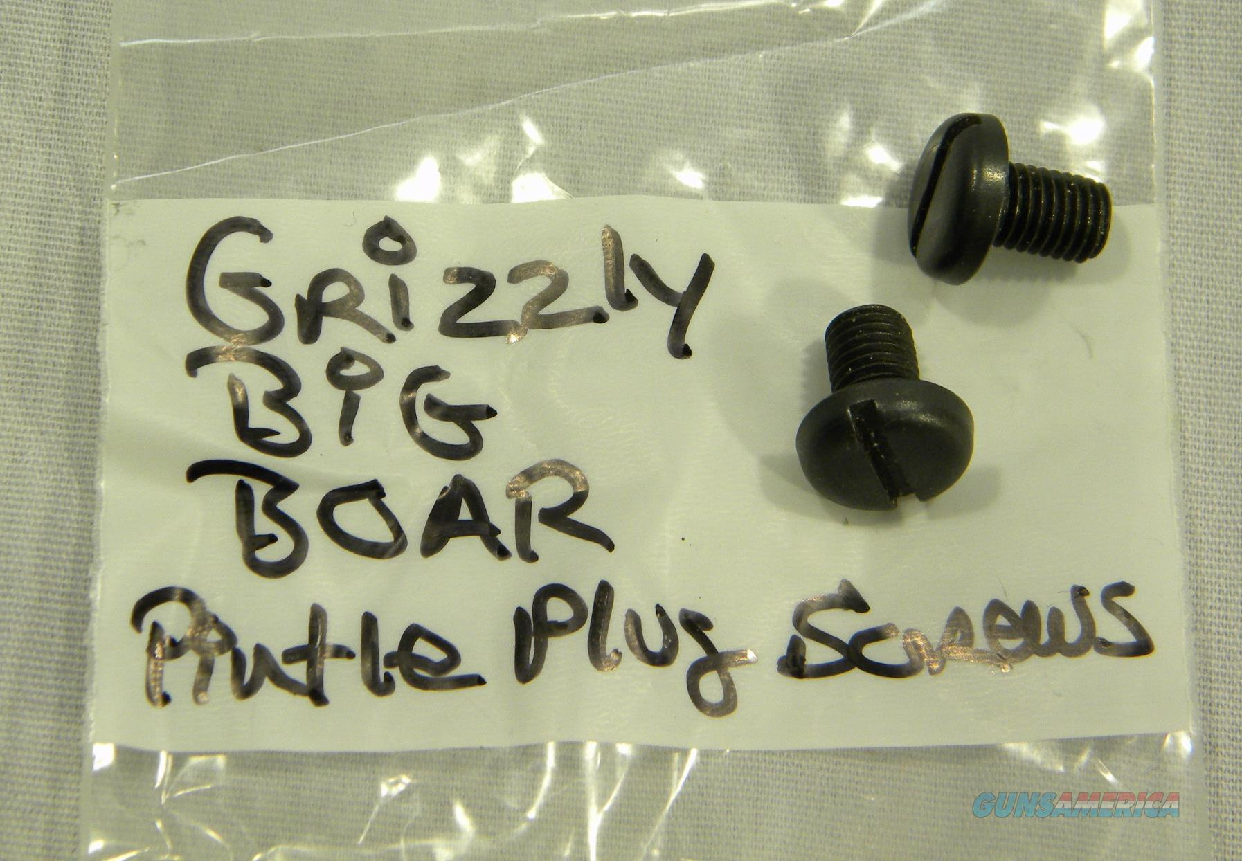 Two Pintle Plug Screws For LAR Grizzly ''Big Boar''  Non-Guns > Miscellaneous