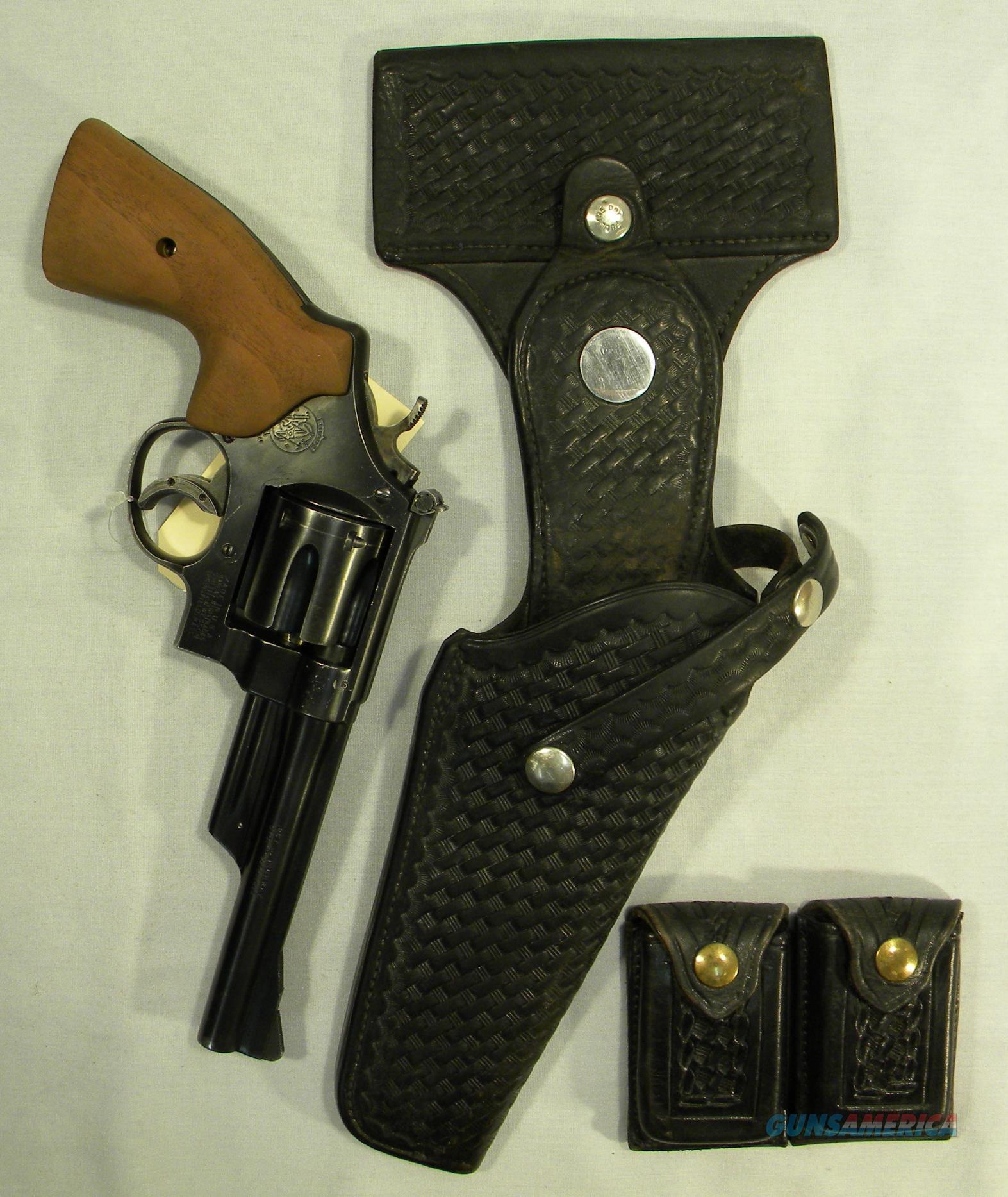 S&W 'Highway Patrolman', Pre-Mdl 28, S-Series 5-Screw, 6-Inch .357 Mag  Guns > Pistols > Smith & Wesson Revolvers > Full Frame Revolver