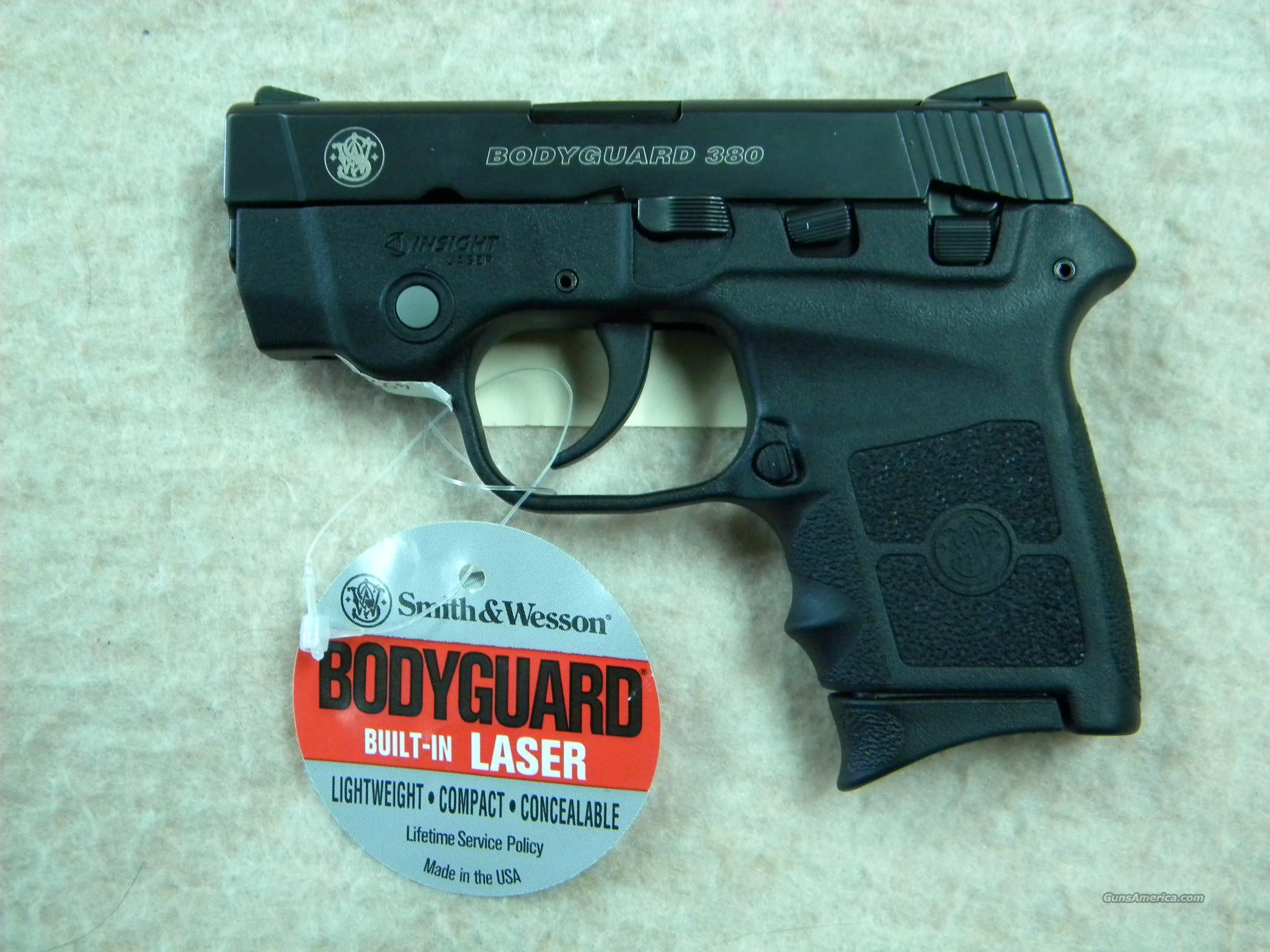 Smith and Wesson Bodyguard 380 with Laser  Guns > Pistols > Smith & Wesson Pistols - Autos > Polymer Frame