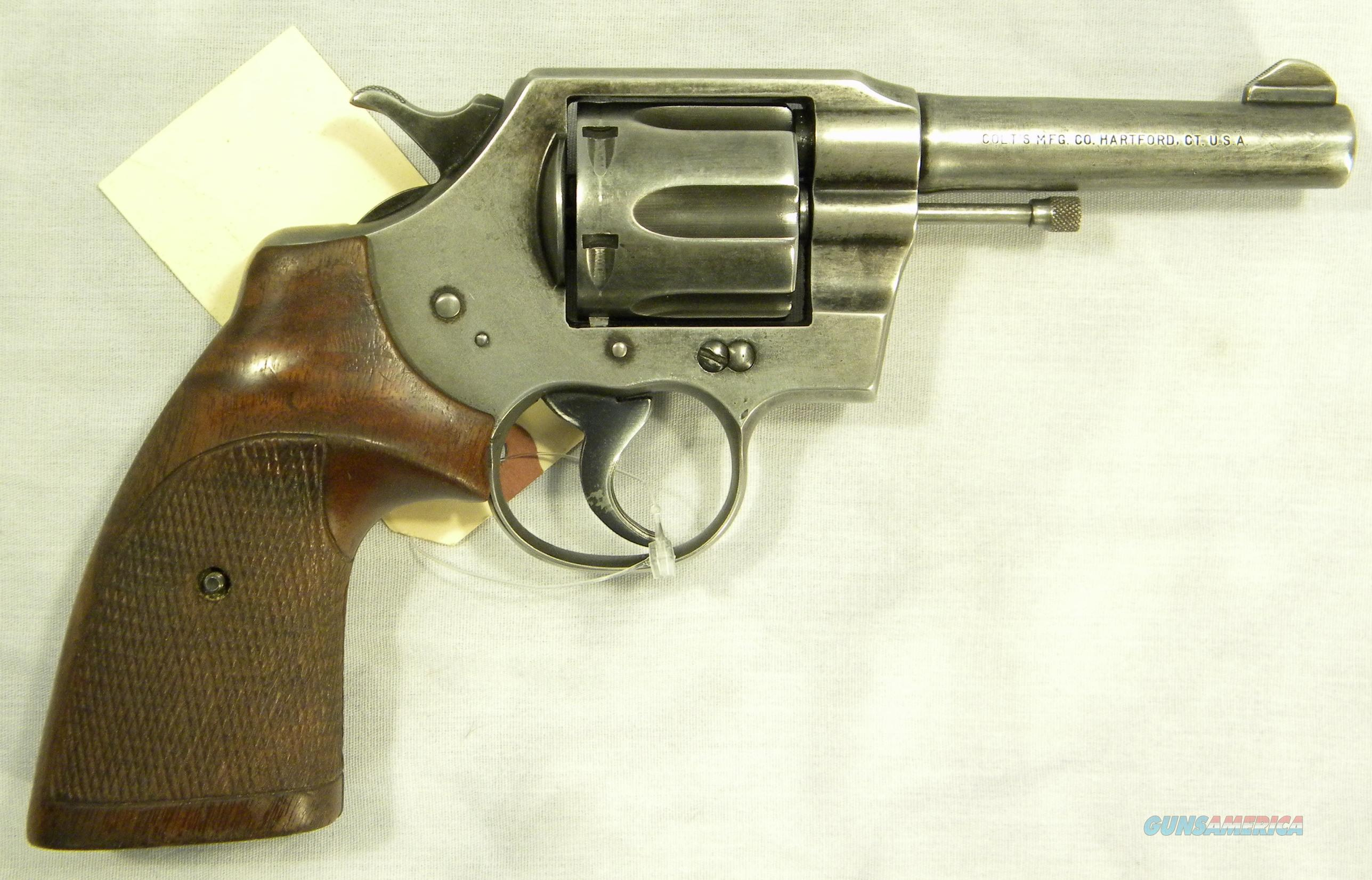 Colt Official Police .38 Special Revolver, Post-War  Guns > Pistols > Colt Double Action Revolvers- Modern