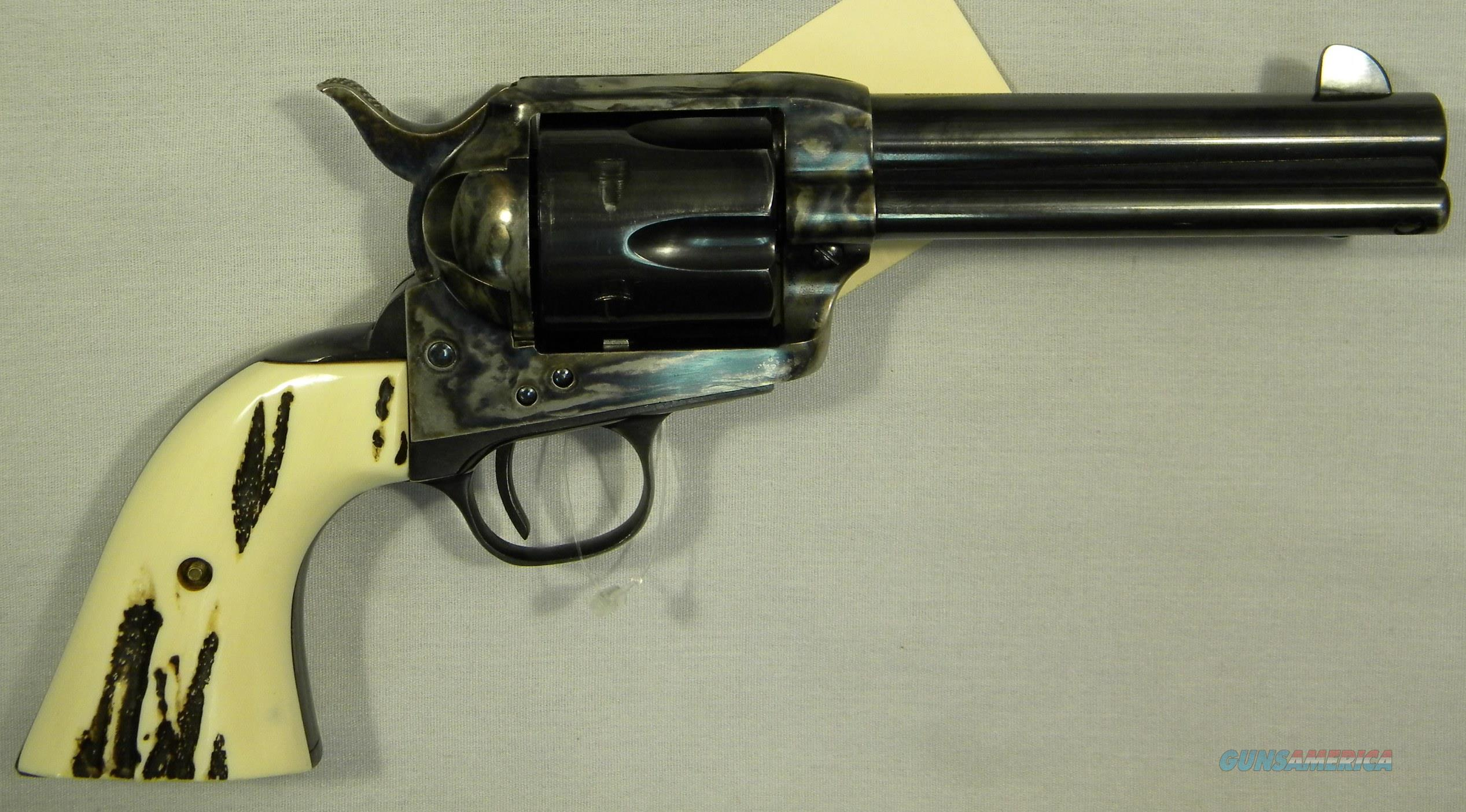 "Cimarron Model P, S.A.A. In 'Pre-War' Configuration, 4-3/4"" .45LC Single-Action Revolver  Guns > Pistols > Cimarron Pistols"