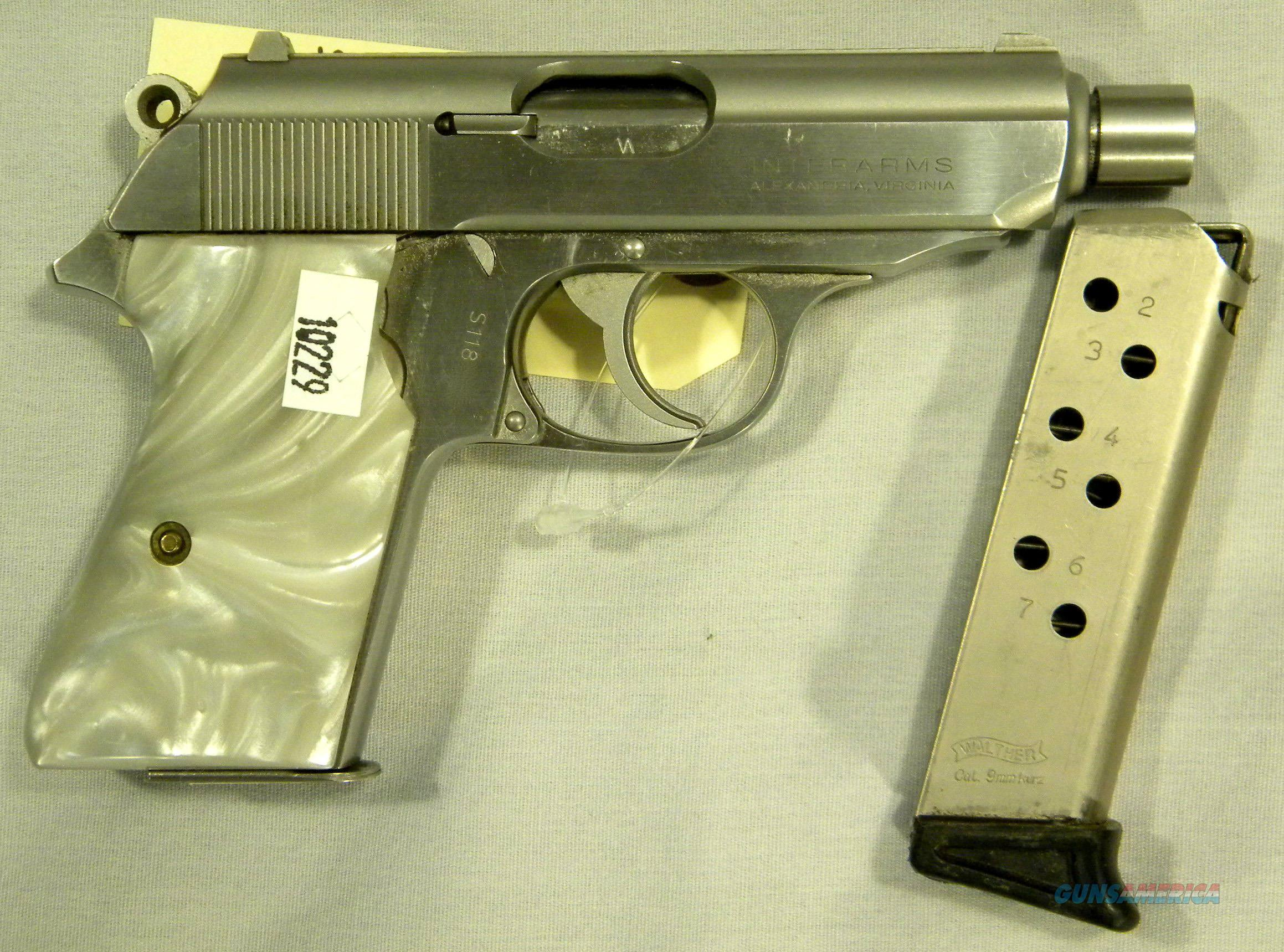 Rare Threaded-Barrel Walther PPK/S In Stainless Steel, 9mm Kurz/.380 ACP Semi-Automatic Pistol  Guns > Pistols > Walther Pistols > Post WWII > PPK Series