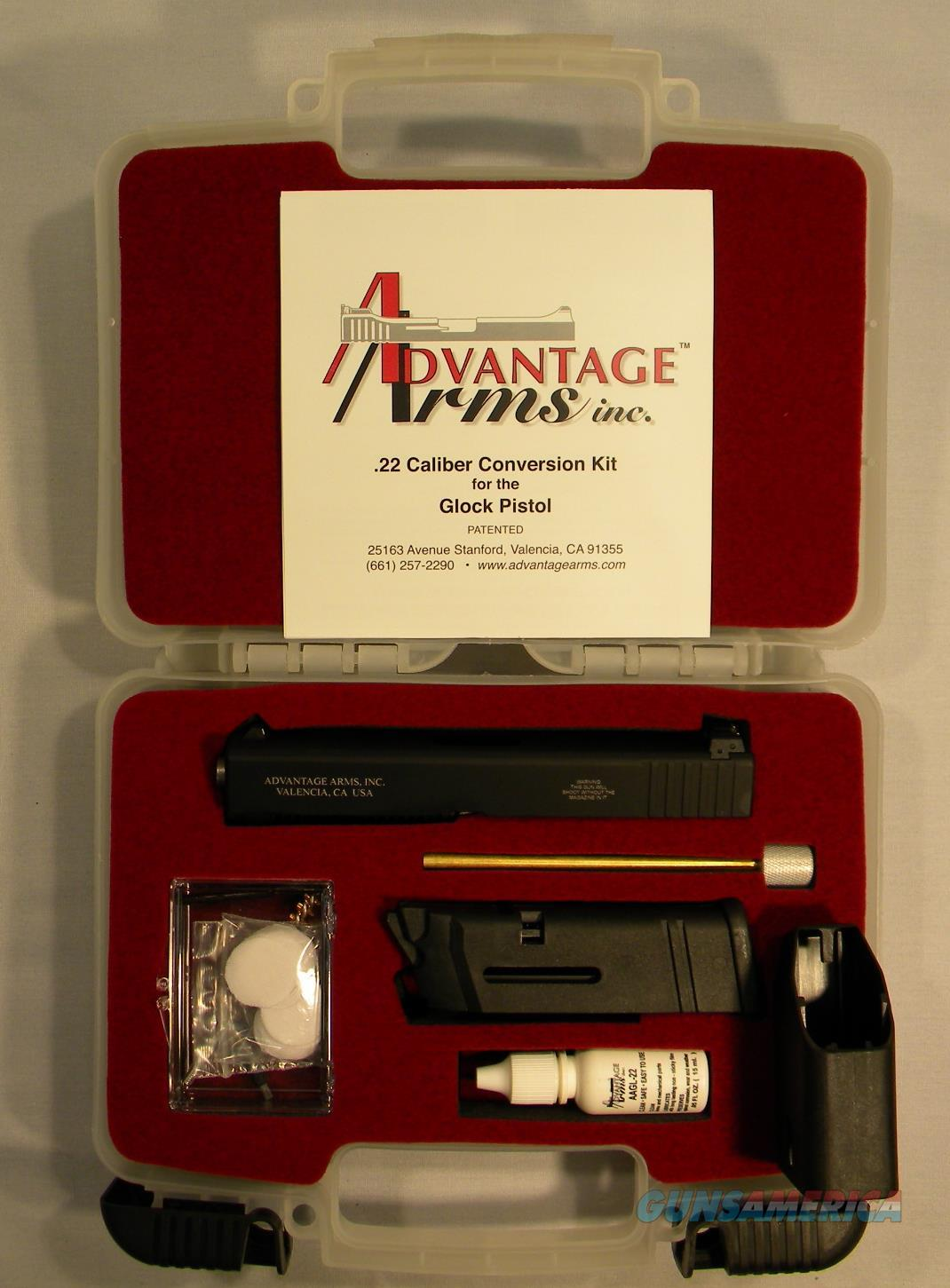 Advantage Arms .22LR Conversion Kit For Glock 19, 23, 25, 32  Non-Guns > Gun Parts > By Manufacturer