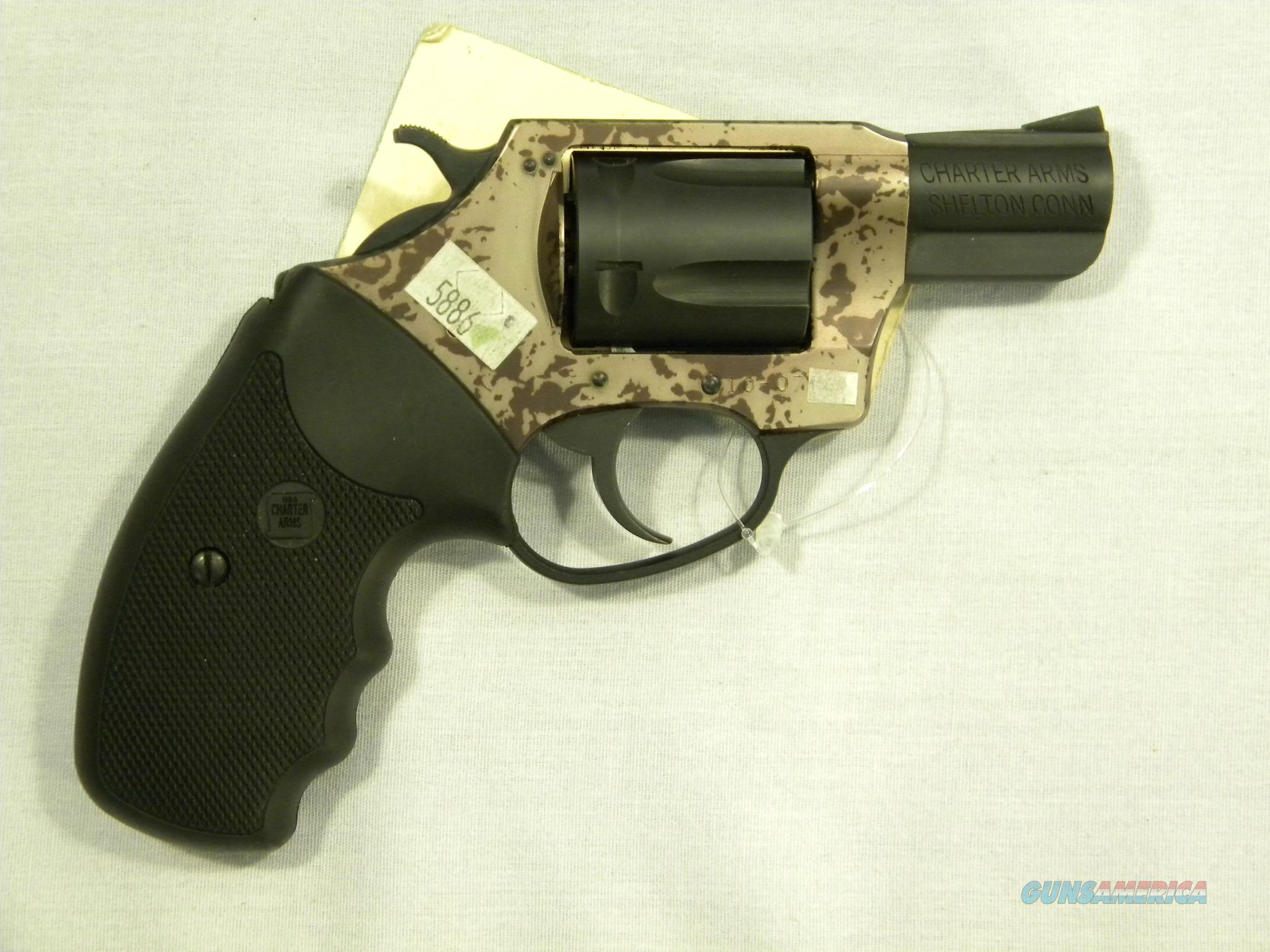 Charter Arms 'Panther', .38 Special, Camo  Guns > Pistols > Charter Arms Revolvers