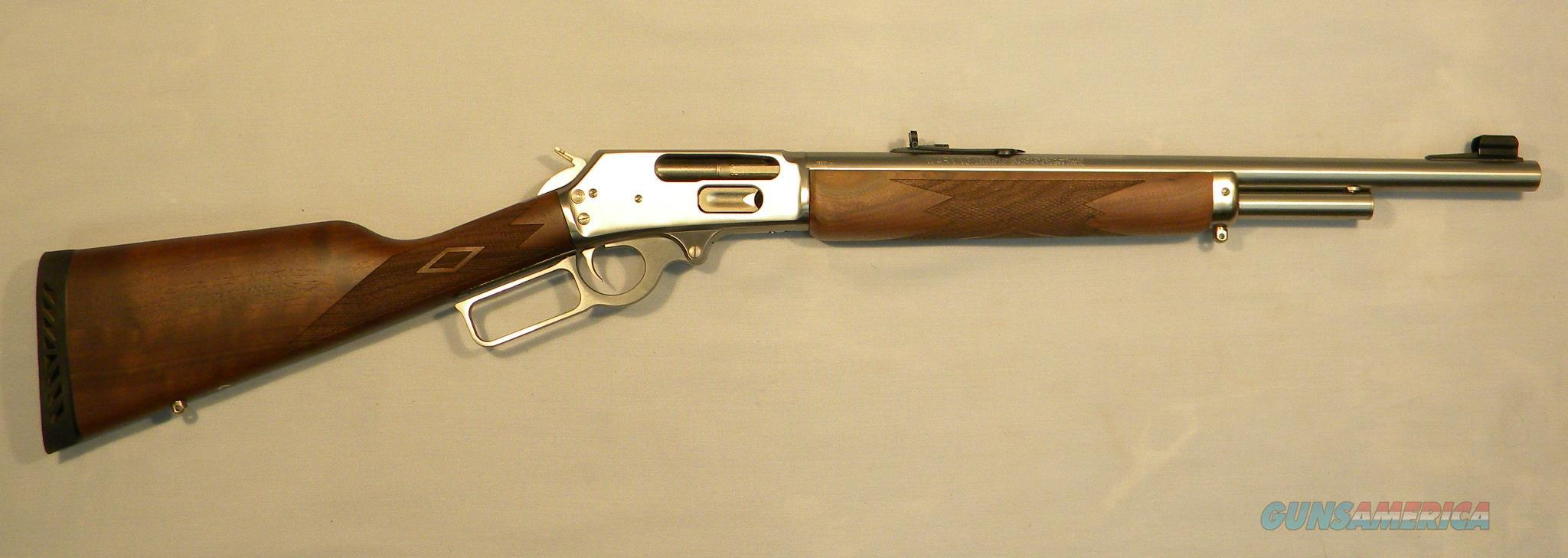 Marlin 1895 GS, .45-70 Gov't Lever-Action Rifle, Stainless  Guns > Rifles > Marlin Rifles > Modern > Lever Action