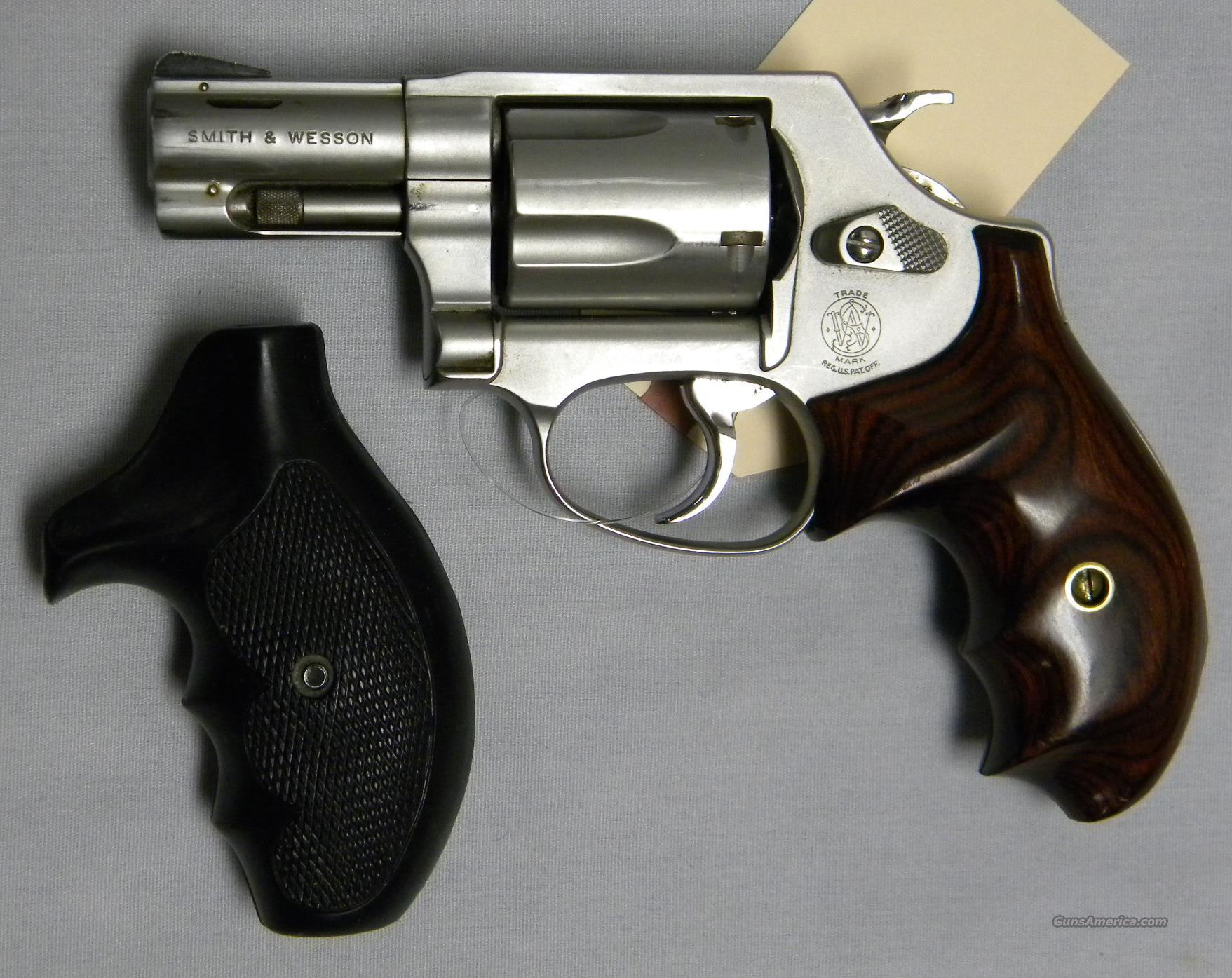smith wesson model 60 357