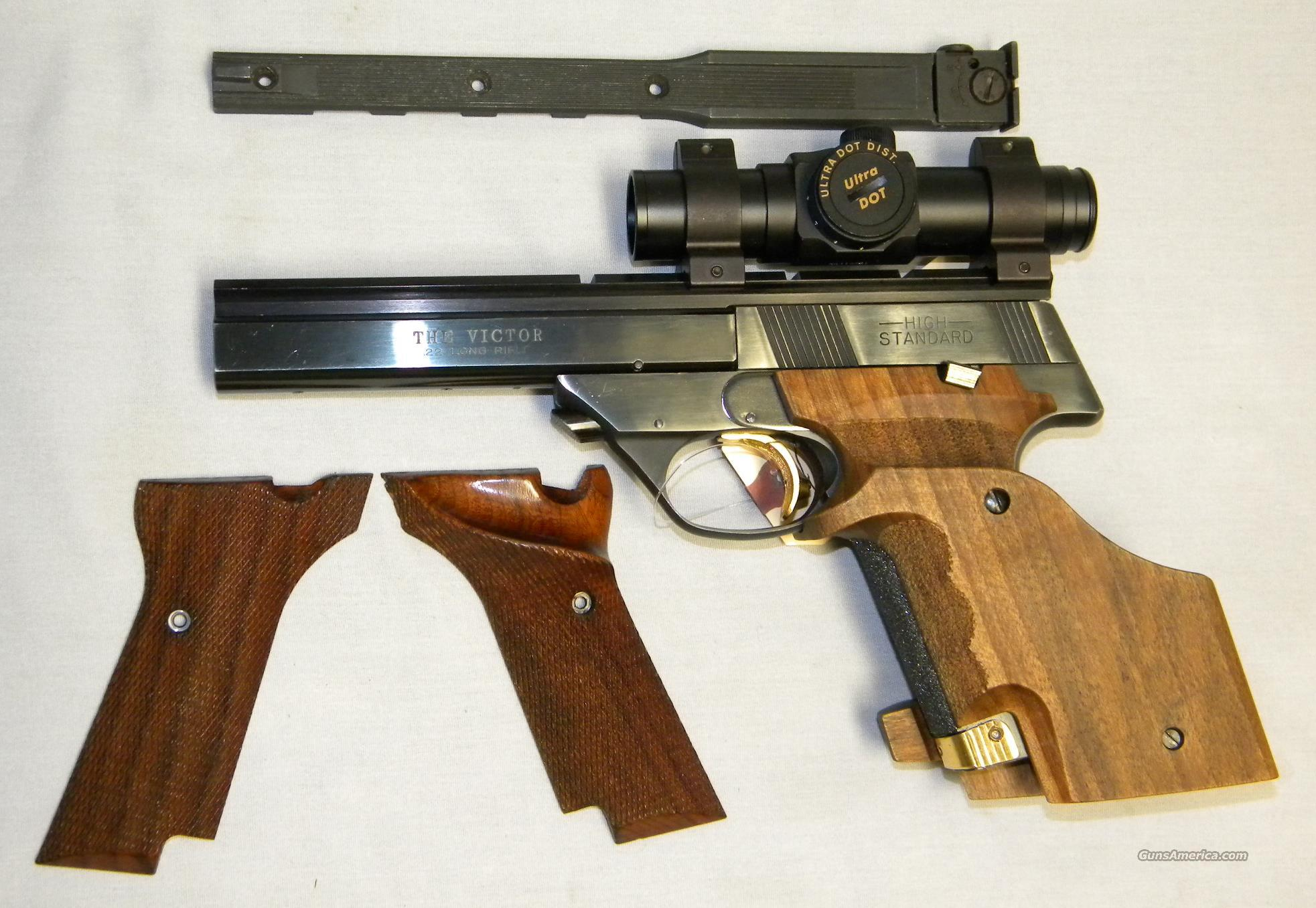 High Standard 'The Victor', Mdl 107 Military, .22LR Target Pistol  Guns > Pistols > High Standard Pistols