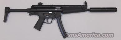 Heckler and Koch MP5  A5- 22LR  Guns > Rifles > Heckler & Koch Rifles > Tactical