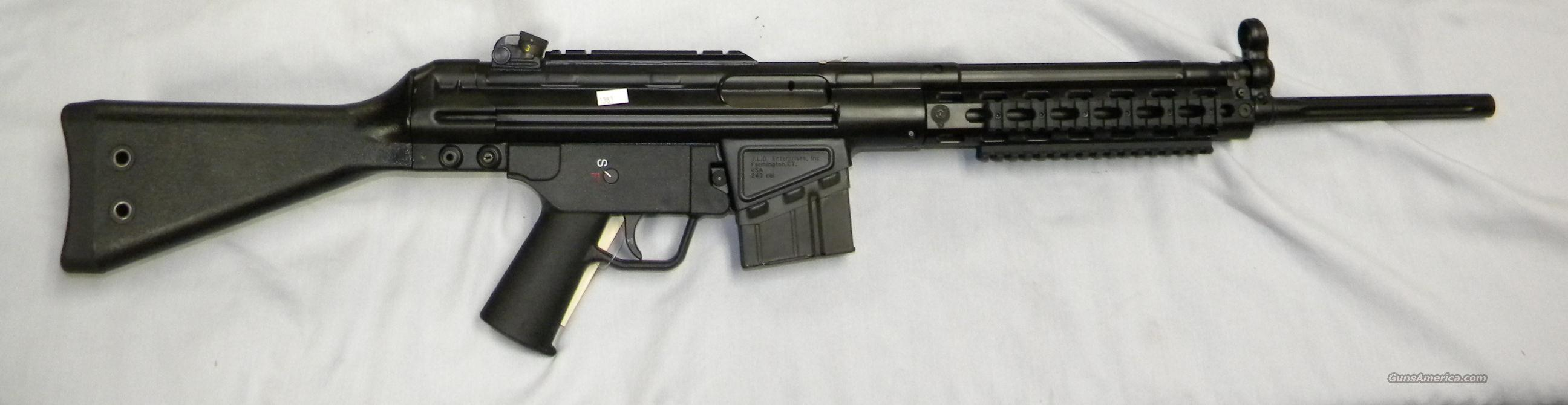 JLD PTR ( Precision Target Rifle) in .243  Guns > Rifles > Heckler & Koch Rifles > Sporting/Hunting
