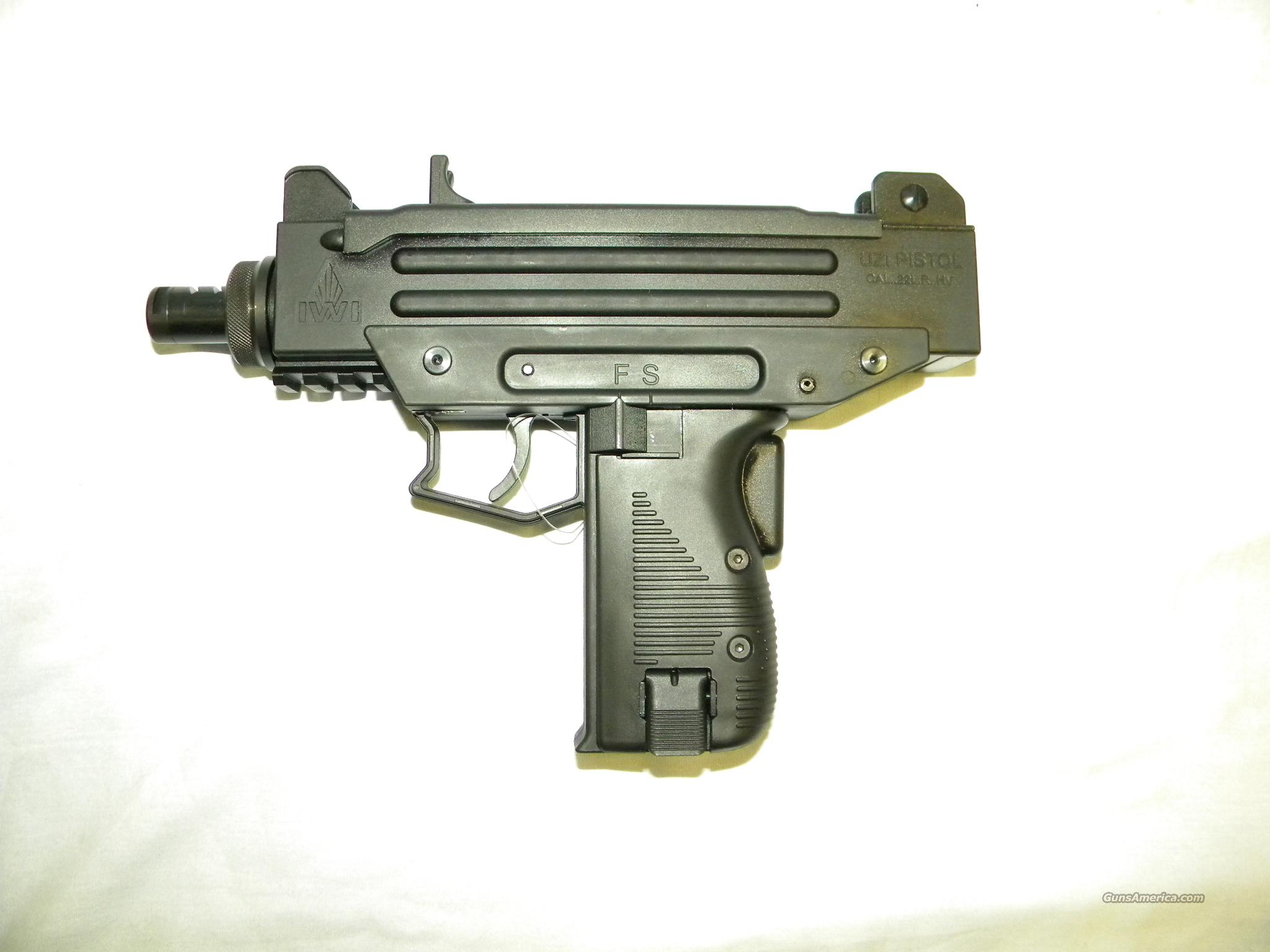 I.W.I. Uzi Pistol, .22 LR, Made In Germany By Walter  Guns > Pistols > IJ Misc Pistols