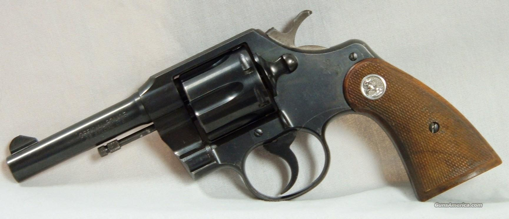 Colt Offical Police  Guns > Pistols > Colt Double Action Revolvers- Modern