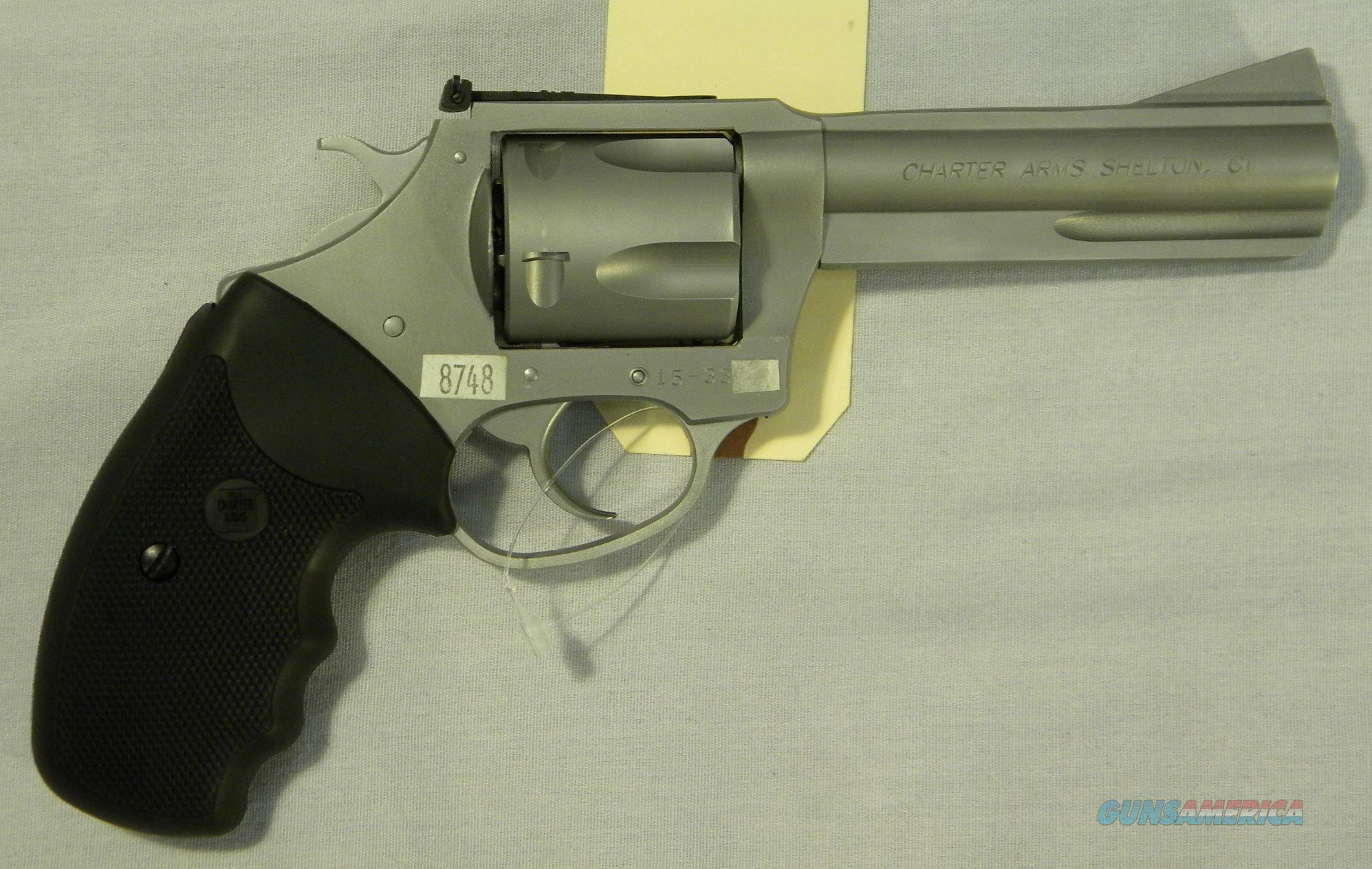 Charter Arms ''Target Bulldog'', 4.2-Inch .44 Special, Stainless Revolver  Guns > Pistols > Charter Arms Revolvers