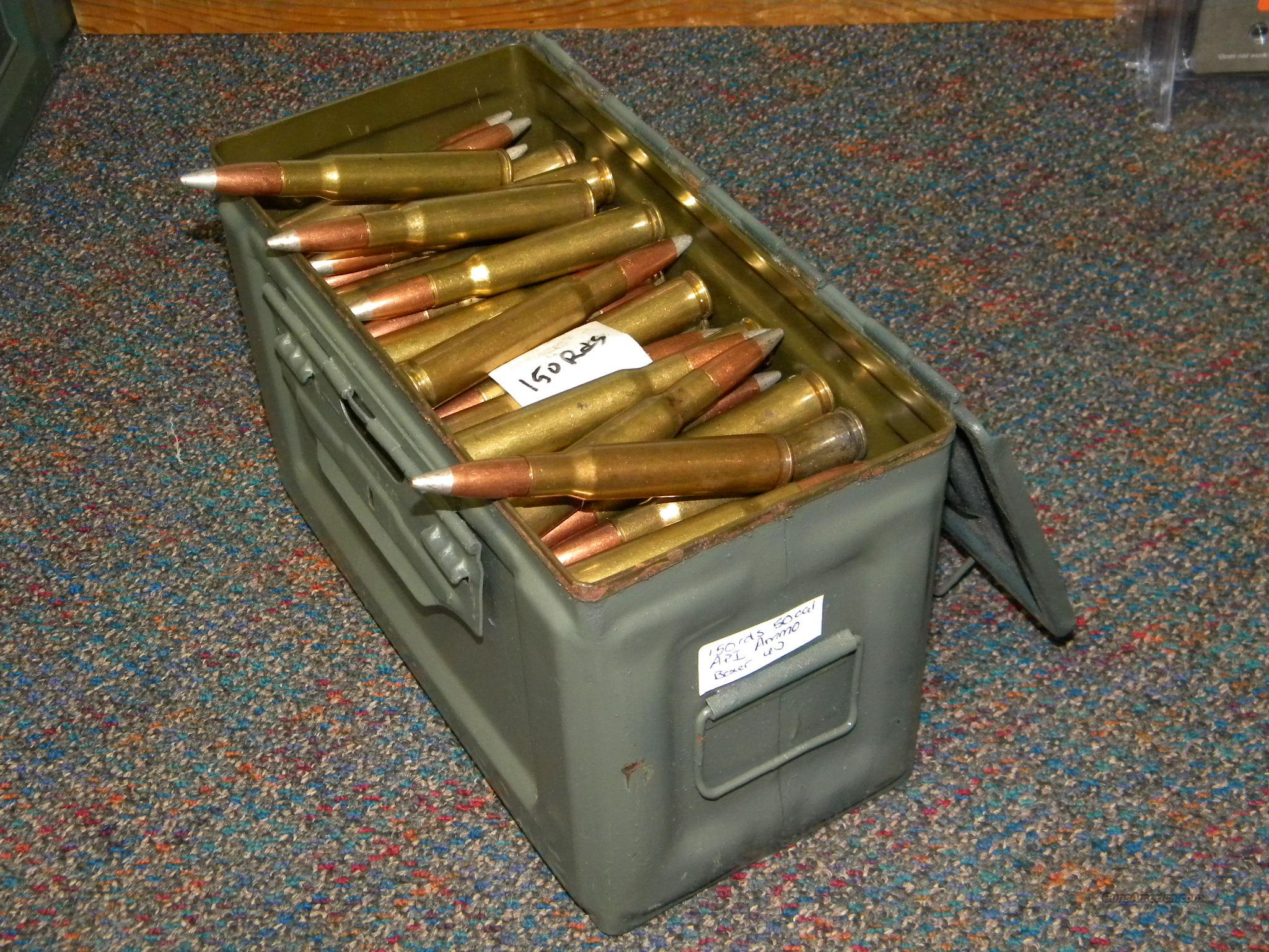 .50 BMG API Ammo, In Can!  Non-Guns > Ammunition