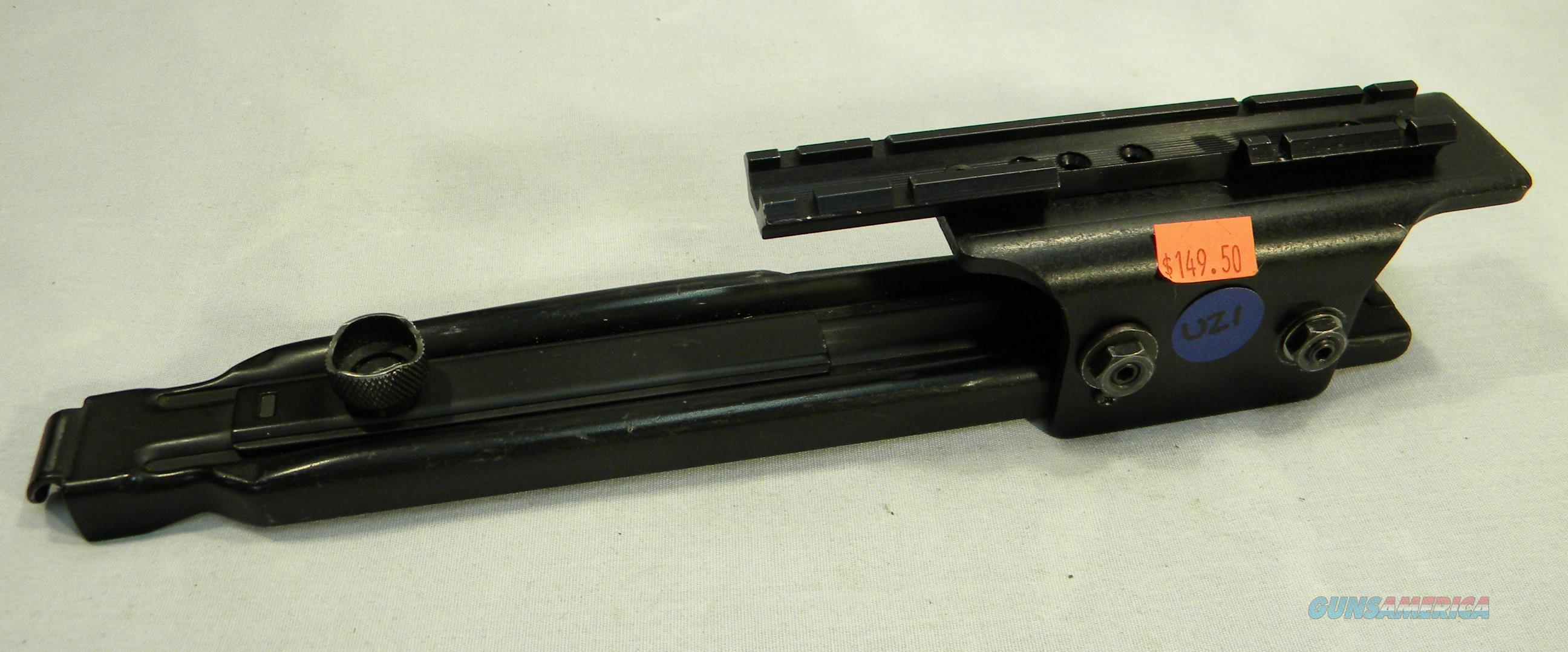Top Cover For Standard Uzi And Carbines, With Optics Rail  Non-Guns > Gun Parts > Military - Foreign