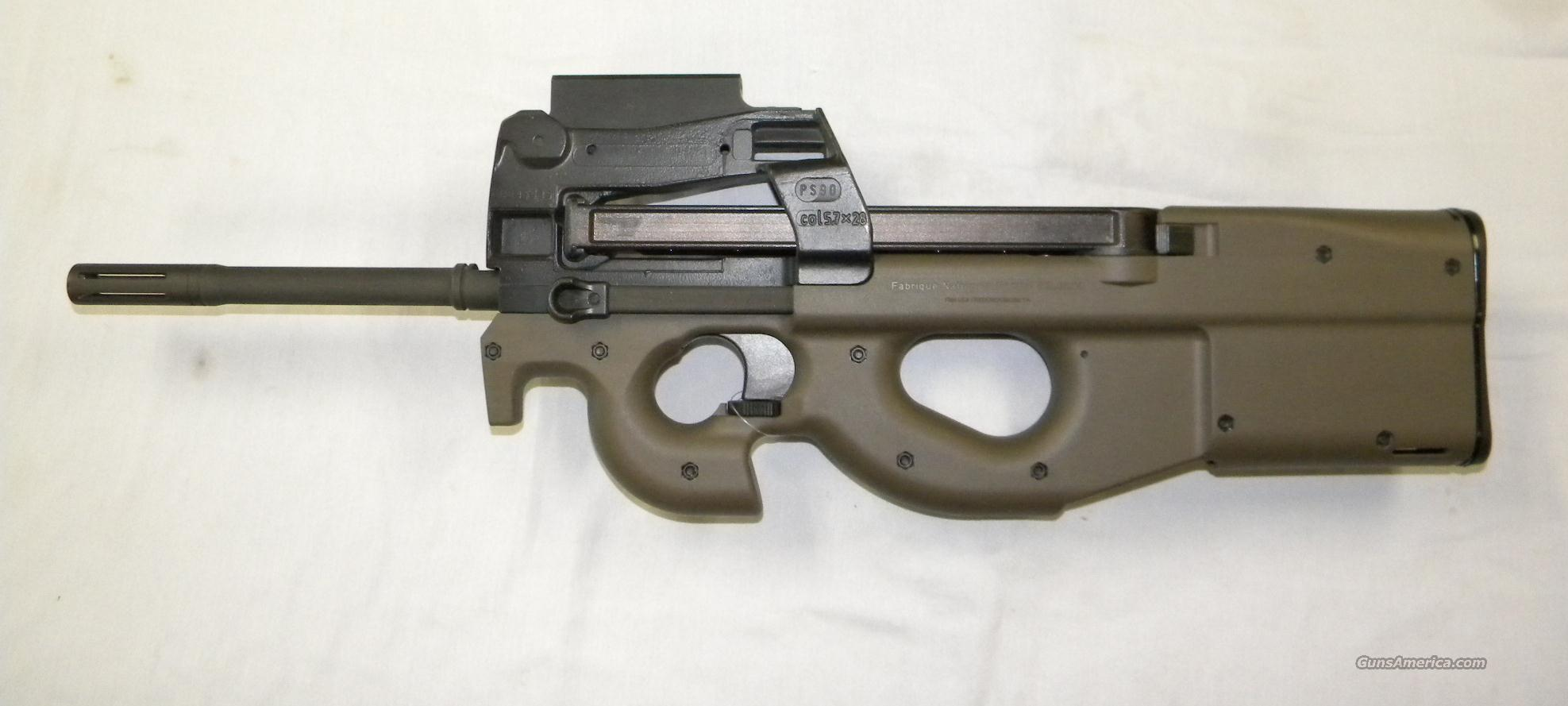FNH PS90 with FN optics and green stock  Guns > Rifles > FNH - Fabrique Nationale (FN) Rifles > Semi-auto > PS90