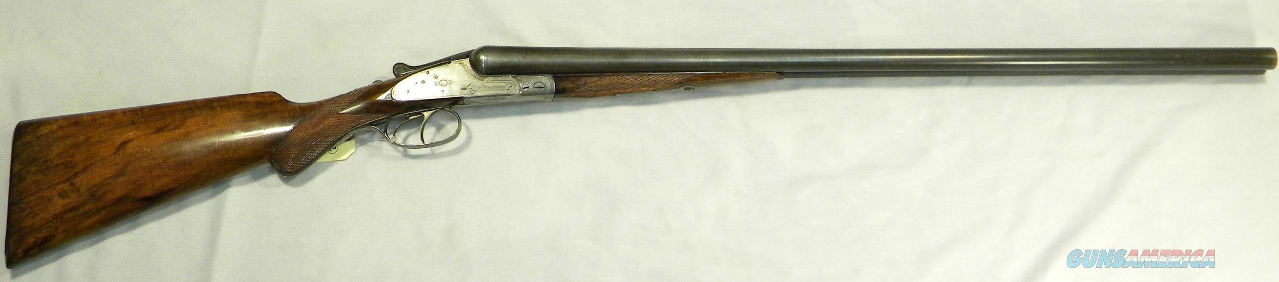 "J.P. Sauer & Son ""Knock-About"", 12 Gauge Side-By-Side Shotgun, Made In Germany  Guns > Shotguns > J.P. Sauer Shotguns"