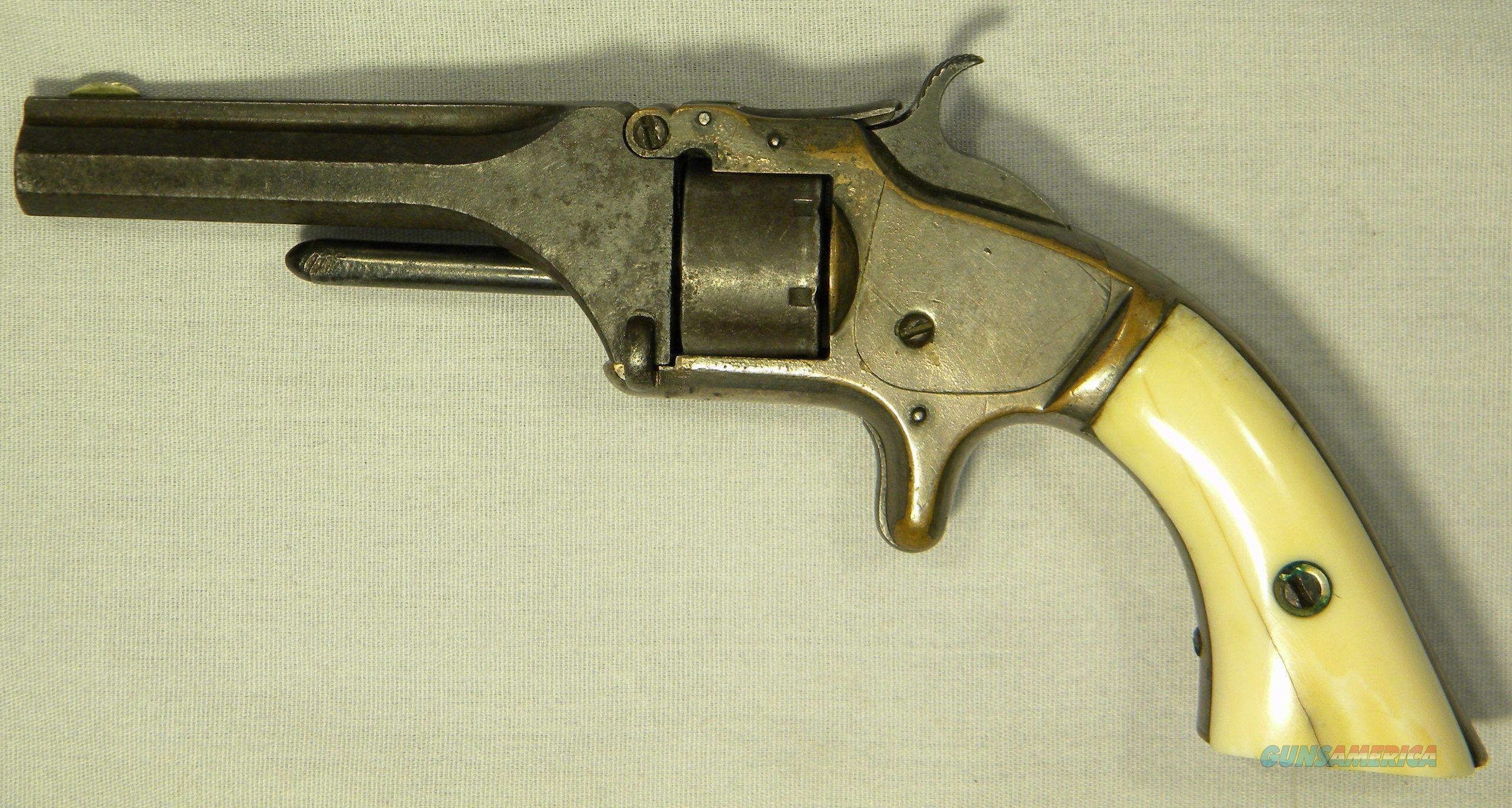 Smith & Wesson #1, 2nd Issue Revolver  Guns > Pistols > Smith & Wesson Revolvers > Pre-1945