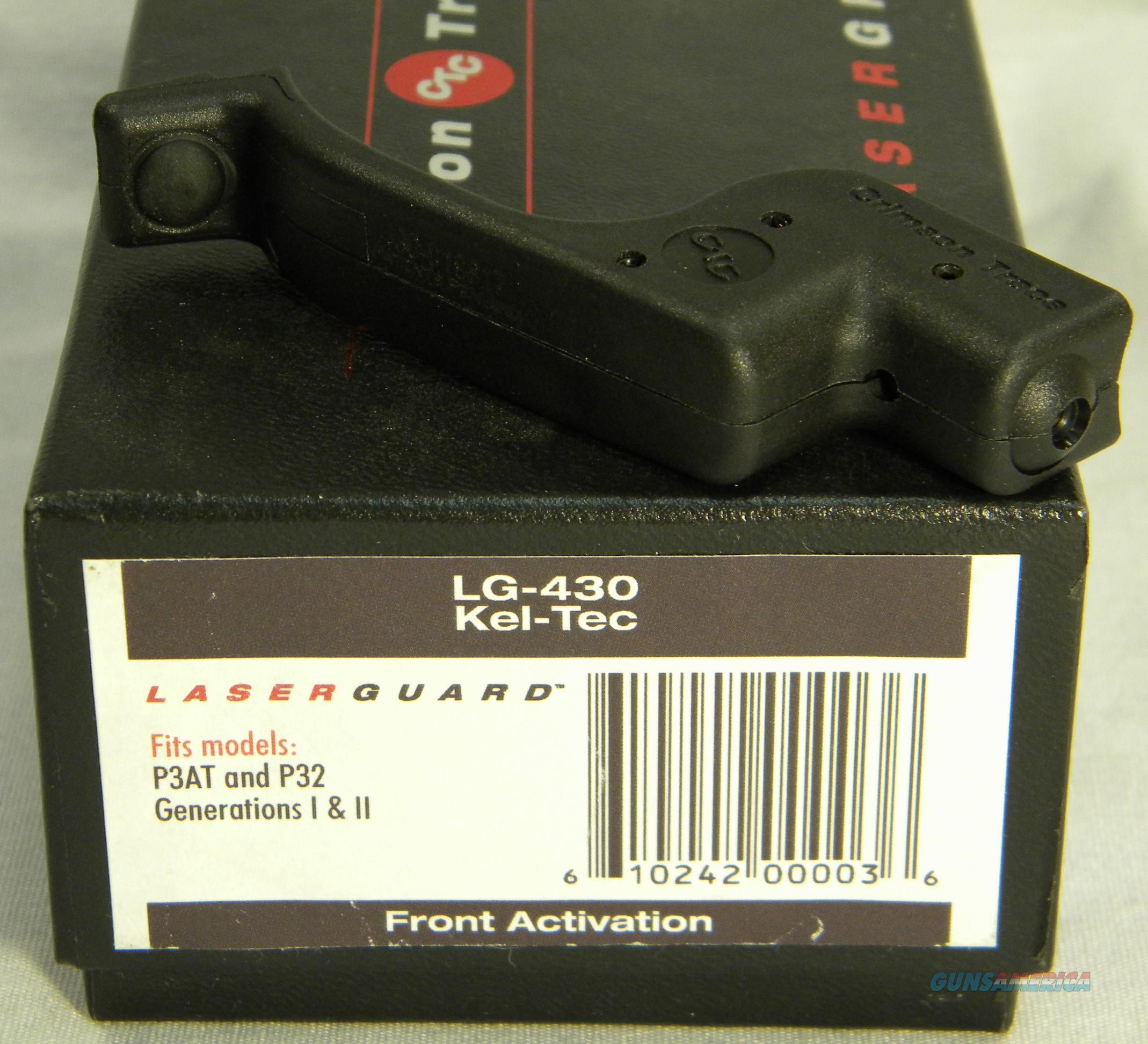 Crimson Trace LG-430 For Kel-Tec P-32 & P3-AT Gen I & II, Crimson Trace Lasers Inventory Reduction Sale!  Non-Guns > Scopes/Mounts/Rings & Optics > Non-Scope Optics > Other