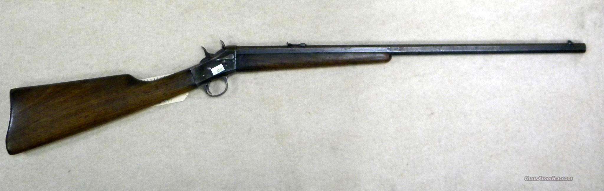 Remington No. 4 Take-Down, Rolling Block .32 Rim-Fire Single-Shot Rifle  Guns > Rifles > Remington Rifles - Modern > Other