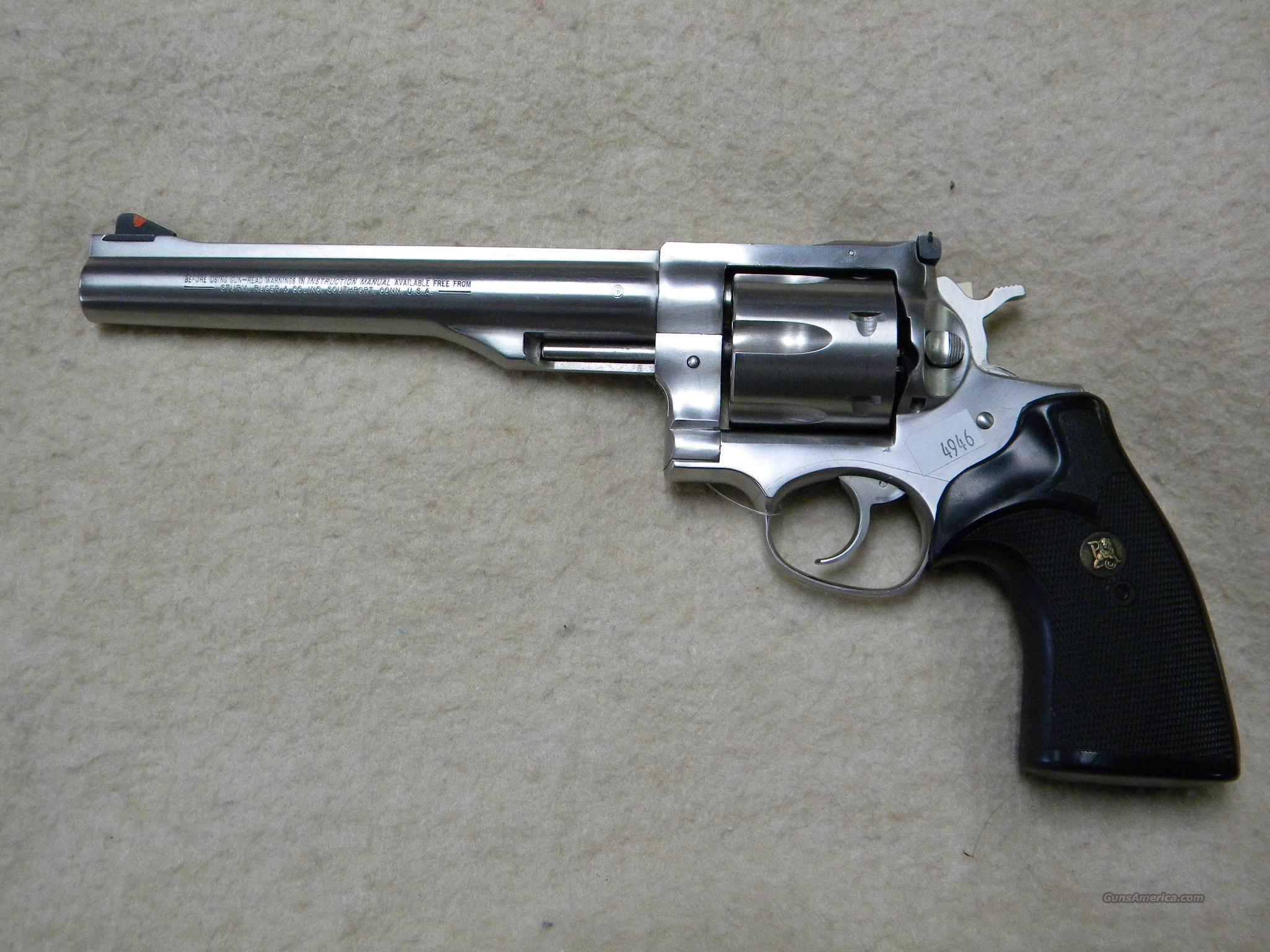 "Ruger Redhawk Stainless Steel 7.5"" .44 Magnum  Guns > Pistols > Ruger Double Action Revolver > Redhawk Type"
