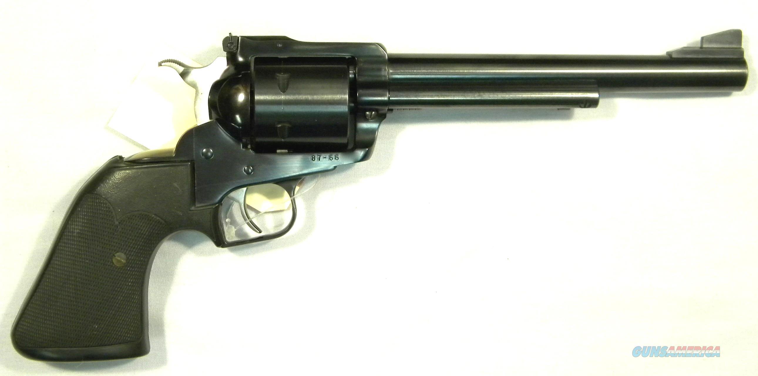 """Ruger New Model Super Blackhawk, .44 Magnum 7-1/2"""" Blued, As-New!  Guns > Pistols > Ruger Single Action Revolvers > Blackhawk Type"""