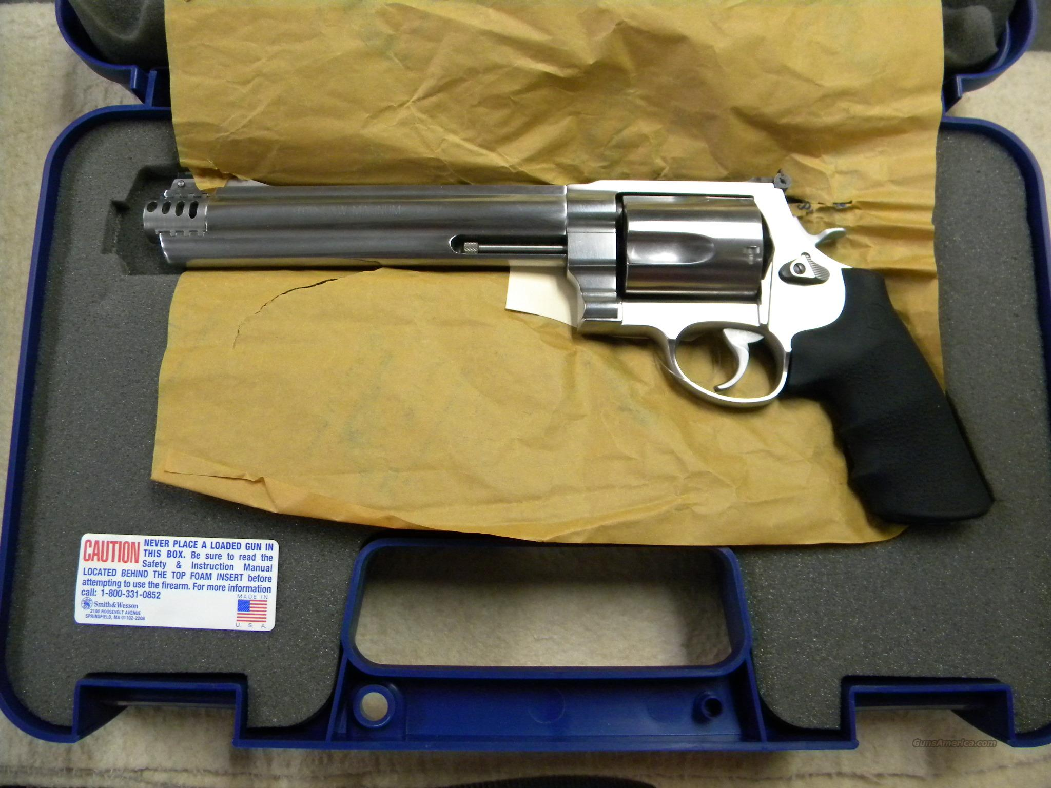 Smith and Wesson 460 XVR  Priced to move !   Guns > Pistols > Smith & Wesson Revolvers > Full Frame Revolver