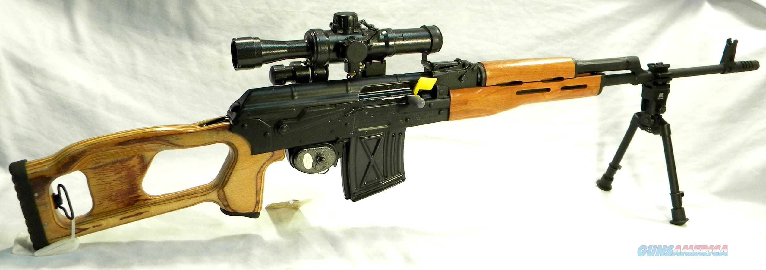 PSL-54 Sniper Rifle, Romanian Made, New In Box, With Correct Russian 4x24 Scope  Guns > Rifles > Tactical/Sniper Rifles