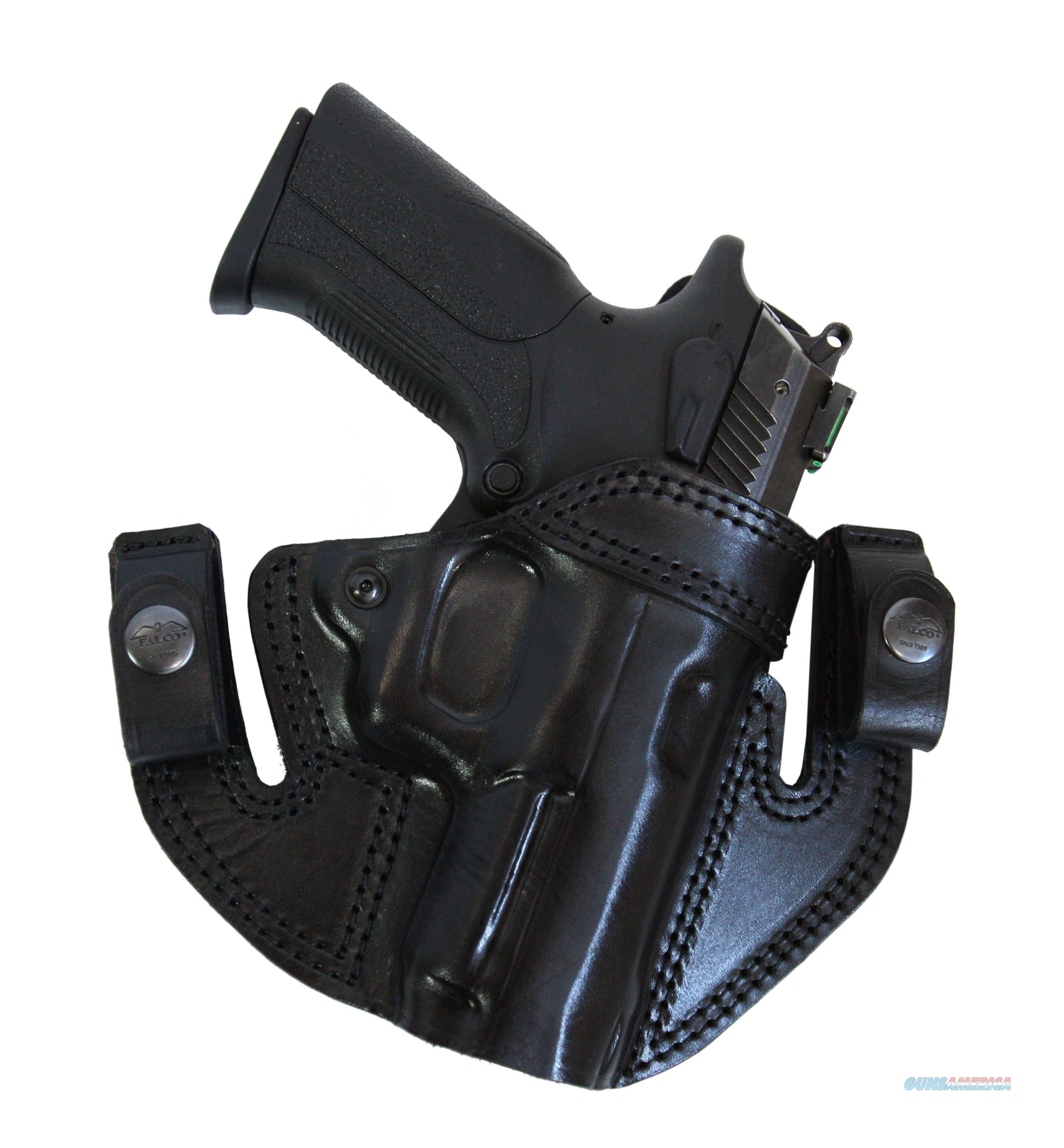 IWB / OWB Leather Gun Holster  Smith & Wesson MP9  Non-Guns > Holsters and Gunleather > Concealed Carry