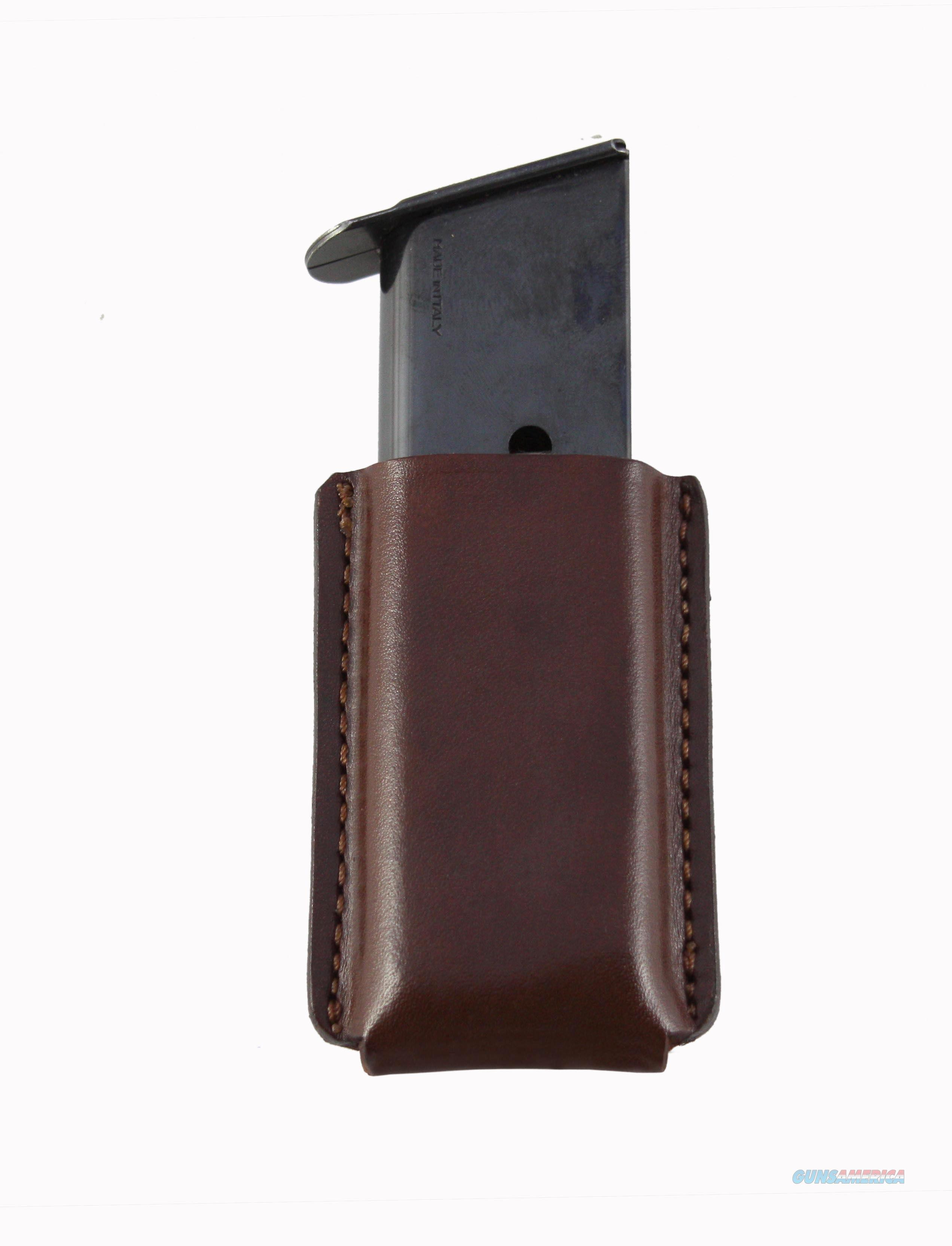 Leather Single Magazine Pouch  Glock 43  Non-Guns > Holsters and Gunleather > Magazine Holders