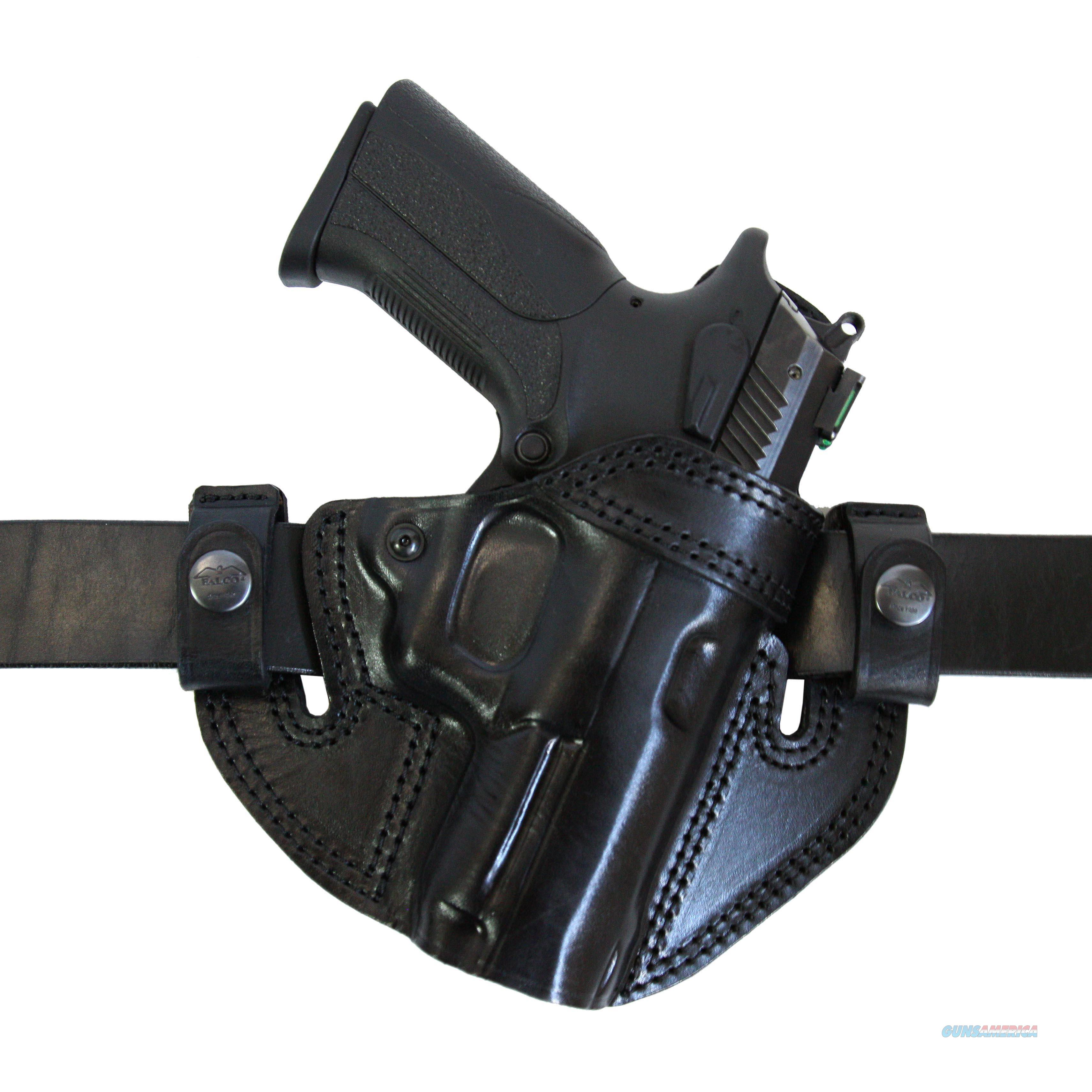 IWB / OWB Leather Gun Holster  CZ 75D Compact  Non-Guns > Holsters and Gunleather > Concealed Carry
