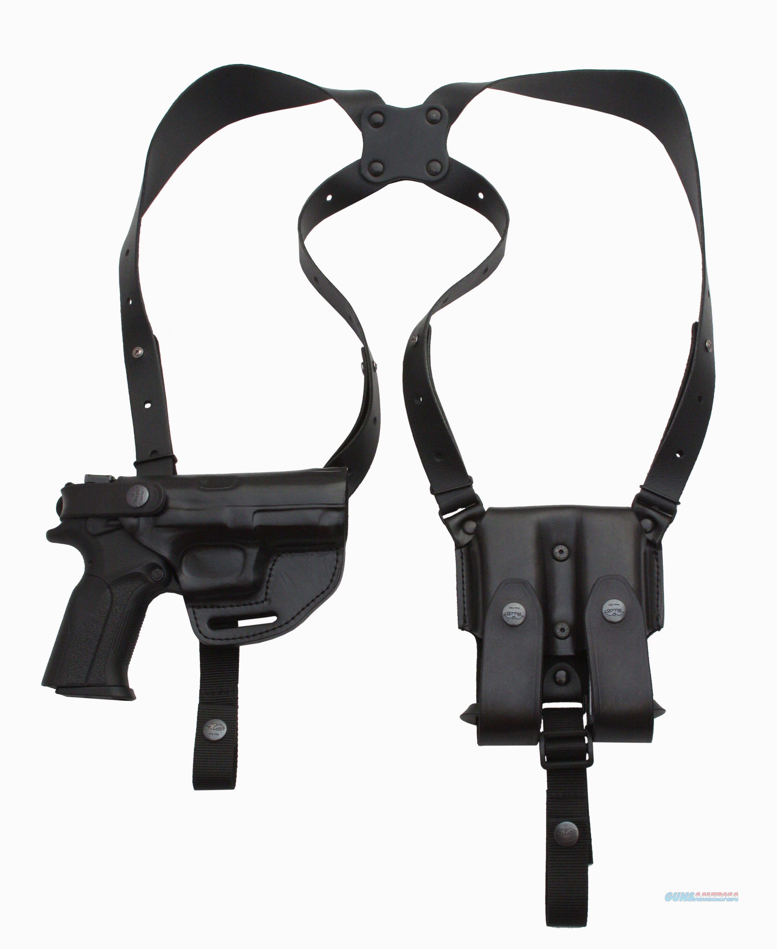 "Leather Shoulder Holster System Colt 1911 5""  Non-Guns > Holsters and Gunleather > Shoulder Holsters"