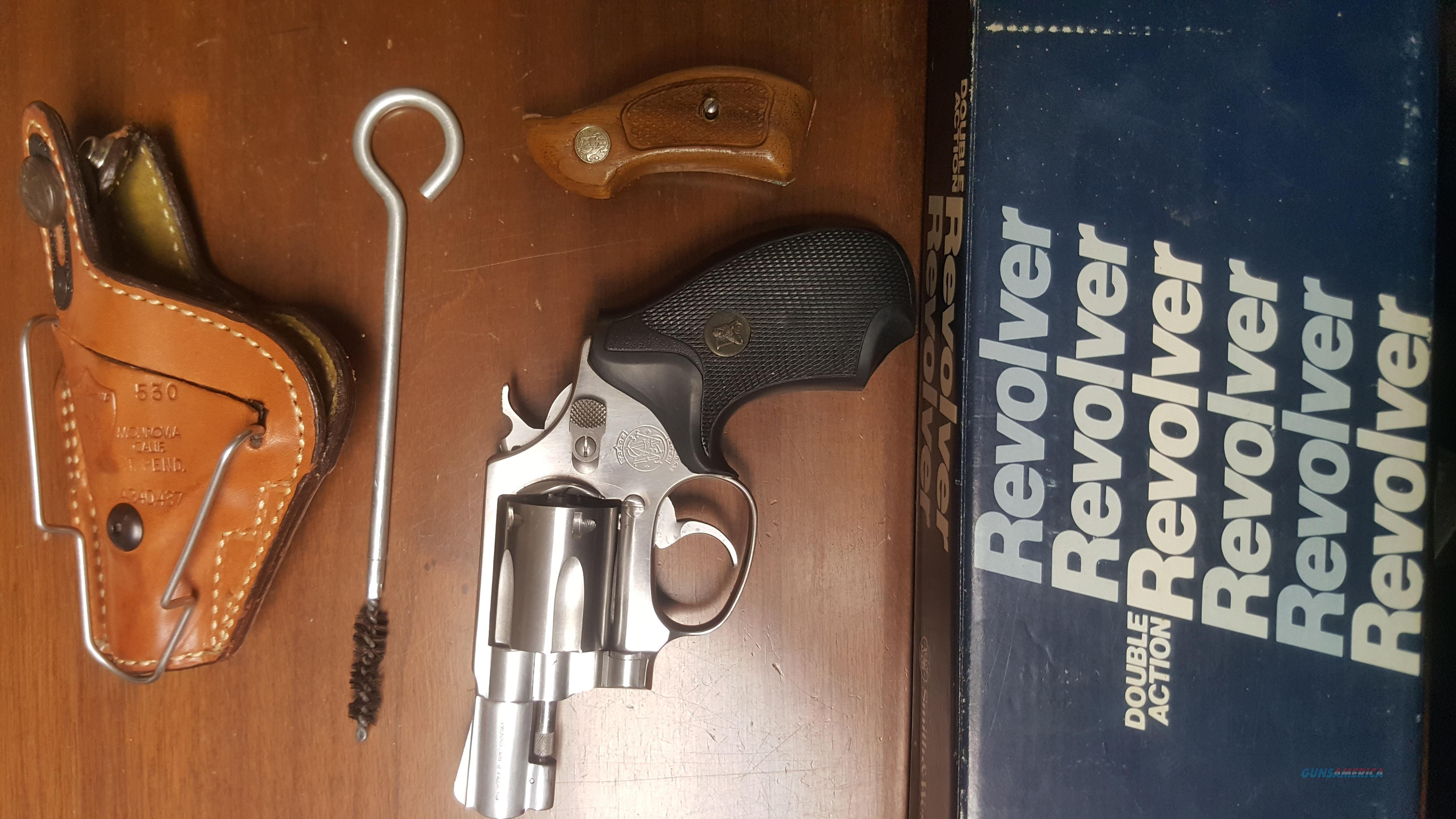 Smith and Wesson .38 special  Model 60  Guns > Pistols > A Misc Pistols