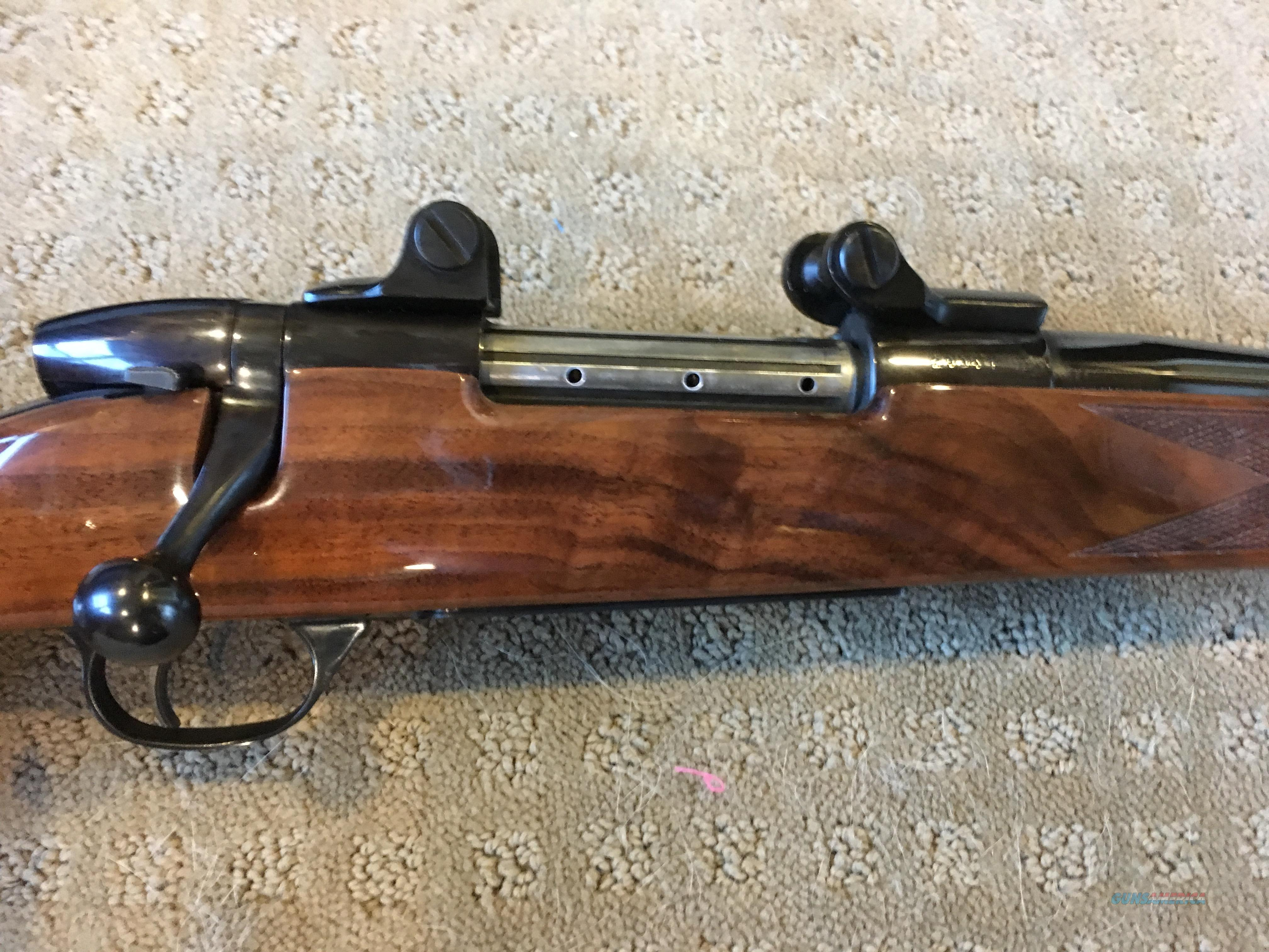 "German Mark V 7MM Weatherby Mag, 24"" RH Early Slide Safety Possibly Unfired  Guns > Rifles > Weatherby Rifles > Sporting"