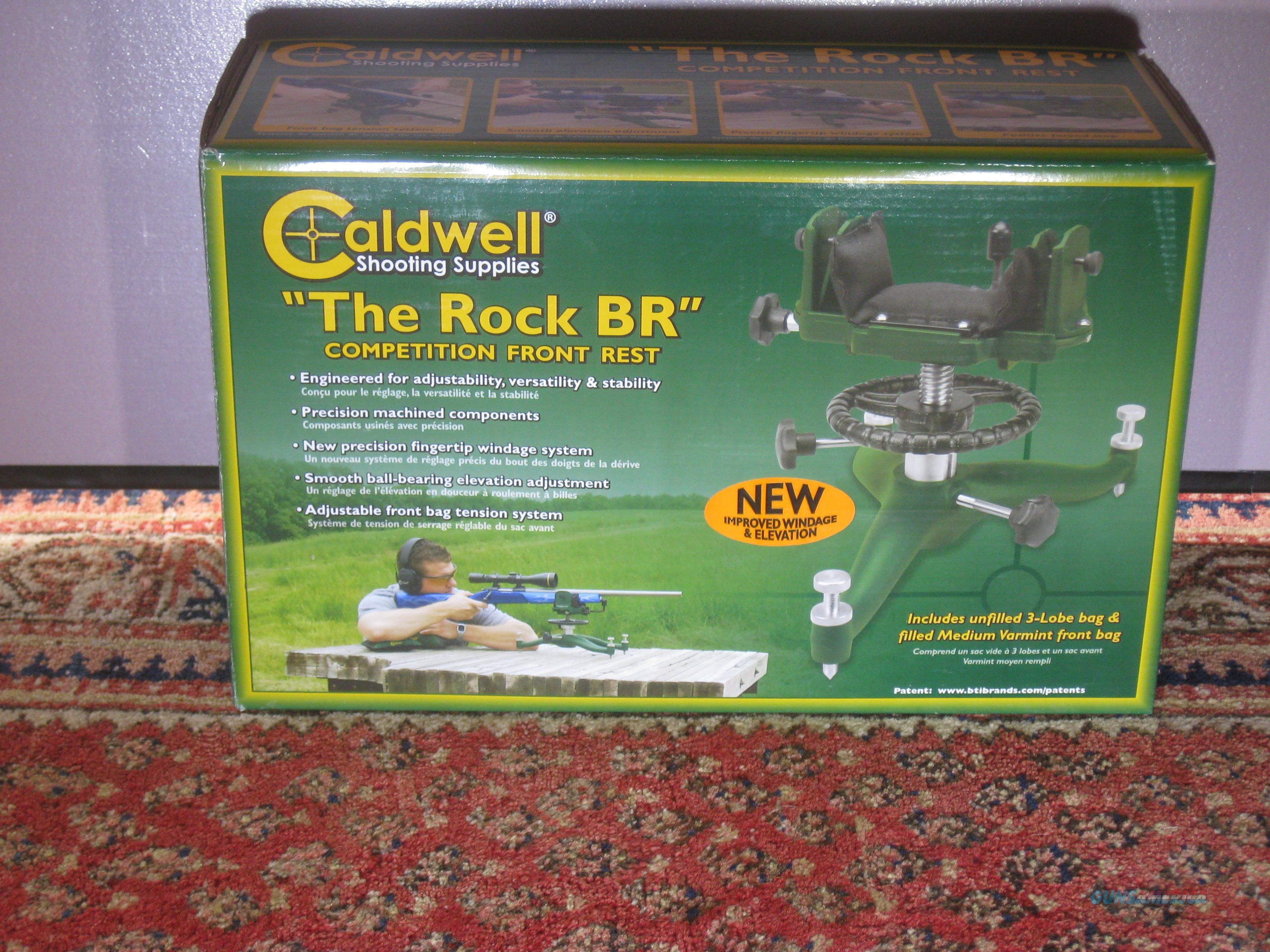Caldwell 440907 Rock BR Competition Rifle Front Shooting Rest, 440-907 NIB  Non-Guns > Miscellaneous