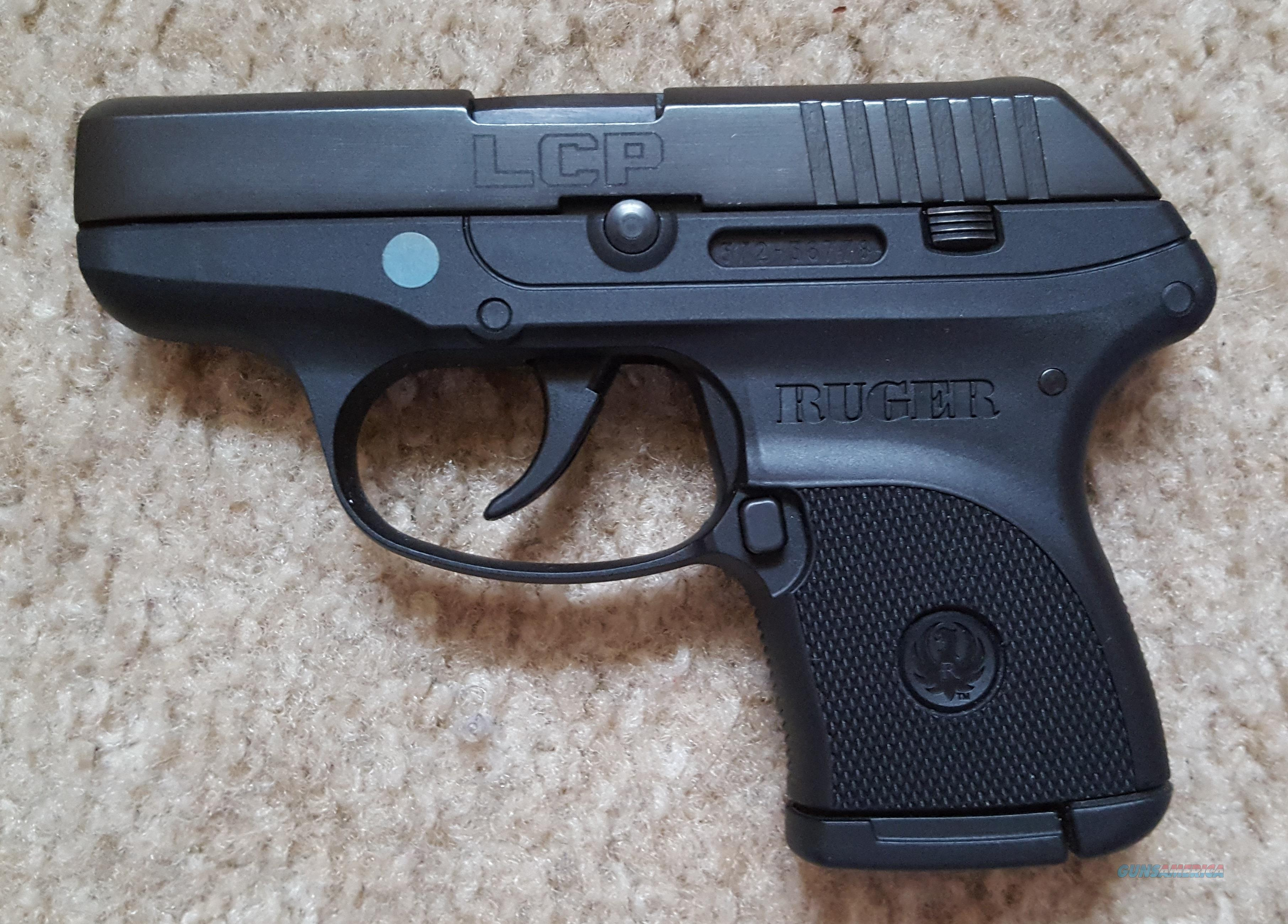 RUGER LCP  380, 2 75
