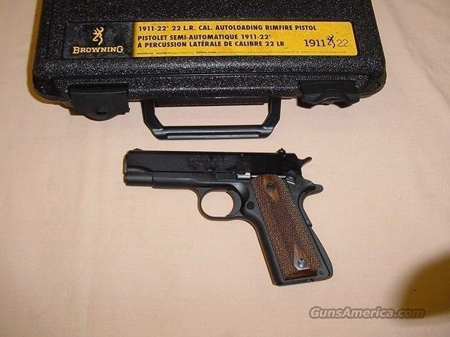 "Browning 1911-22 22LR 3.65"" Barrel FREE SHIPPING  Guns > Pistols > Browning Pistols > Other Autos"