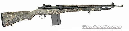 Springfield M1A Scout Squad Semi-Auto Rifle AA9124, 308 Winchester, 18 in, Fiberglass Mossy Oak Stock, Black Finish  Guns > Rifles > Springfield Armory Rifles > M1A/M14