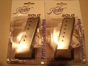 Kimber Solo 8 Round Magazine NEW FREE SHIPPING  Non-Guns > Magazines & Clips > Pistol Magazines > Other