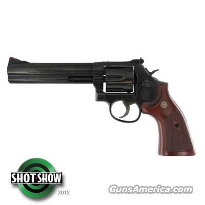 "S&W 586 Classic 357 Mag 6"" 6rd Wood Grip Blue Finish - NIB FREE SHIPPING  Guns > Pistols > Smith & Wesson Revolvers > Full Frame Revolver"