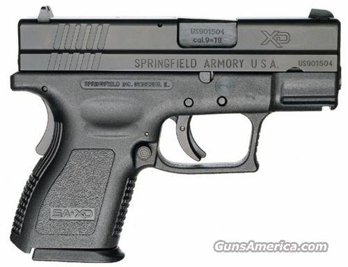 "Springfield XD9 compact 9MM 3"" BLK  NEW FREE SHIPPING  Guns > Pistols > Springfield Armory Pistols > XD (eXtreme Duty)"