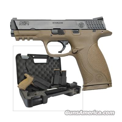 Smith & Wesson M&P 9mm Flat Dark Earth Carry and Range Kit  Guns > Pistols > Smith & Wesson Pistols - Autos > Polymer Frame