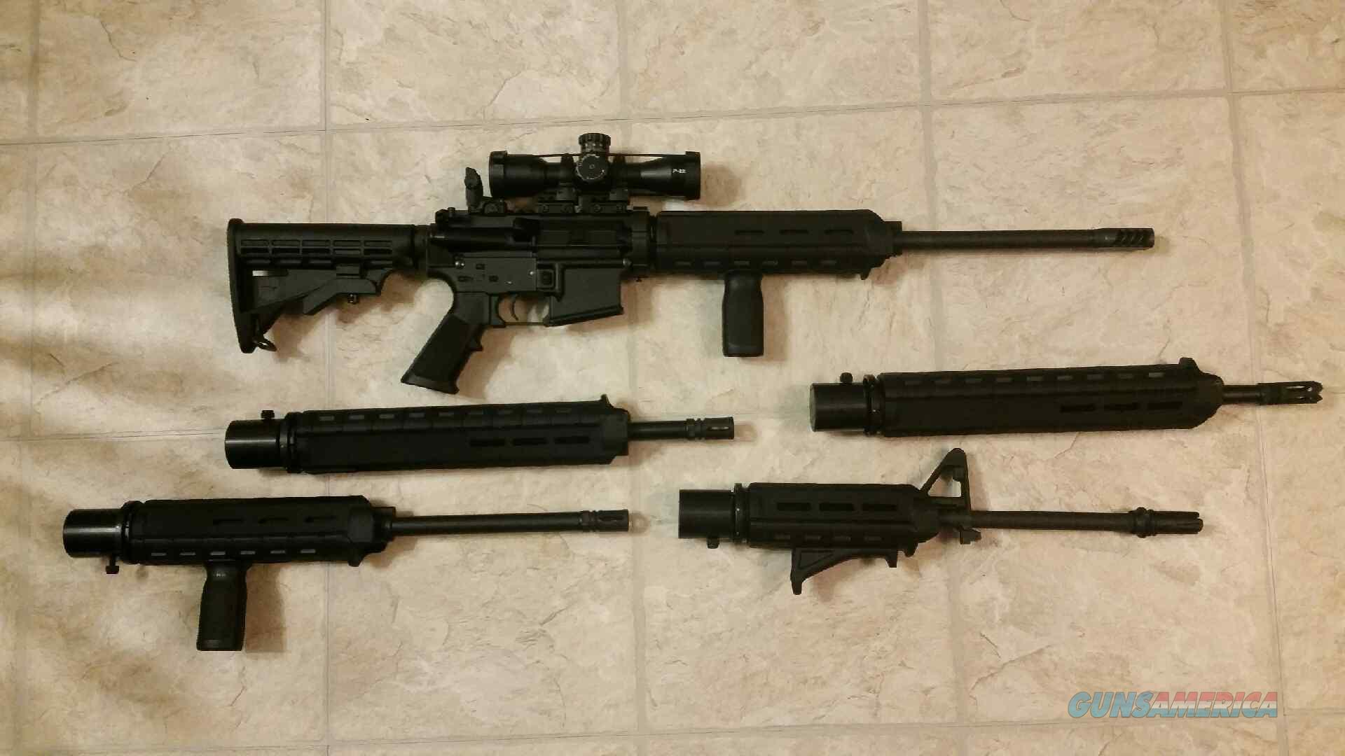 REDUCED!! Frontier Tactical Warlock AR /w 5 barrels  Guns > Rifles > AR-15 Rifles - Small Manufacturers > Complete Rifle