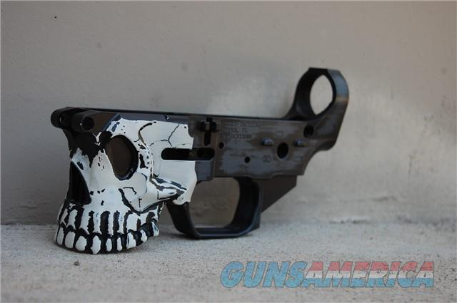 Spikes The Jack X-Werks Distressed Skull Cobalt  Guns > Rifles > Spikes Tactical Rifles