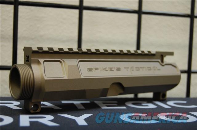 Spikes Gen II Upper Mil Spec X-Werks Burnt Bronze  Guns > Rifles > Spikes Tactical Rifles