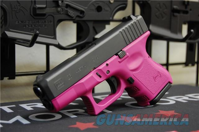 X-Werks Glock 26 Gen 3 Rasberry Pink Frame 9mm  Guns > Pistols > Glock Pistols > 26/27