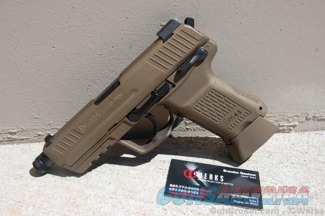 X-Werks HK45 Compact Tact HK45CT w/NS HK BBronze  Guns > Pistols > Heckler & Koch Pistols > Polymer Frame