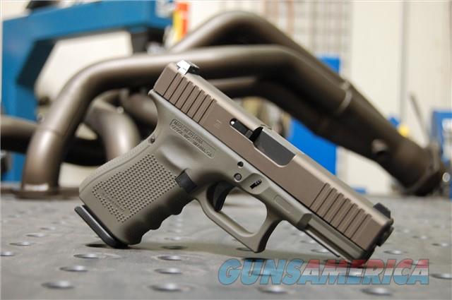 X-Werks Glock 19 Gen 4 Steel Magpul OD Midnight Bronze  Guns > Pistols > Glock Pistols > 19