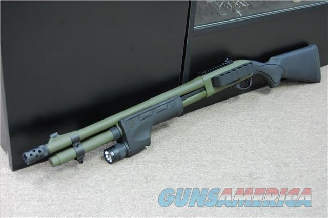 X-Werks Remington 870 Tactical 81198 Surefire OD Surefire Weaponlight Mesa Tactical 6 Side Saddle  Guns > Shotguns > Remington Shotguns  > Pump > Tactical